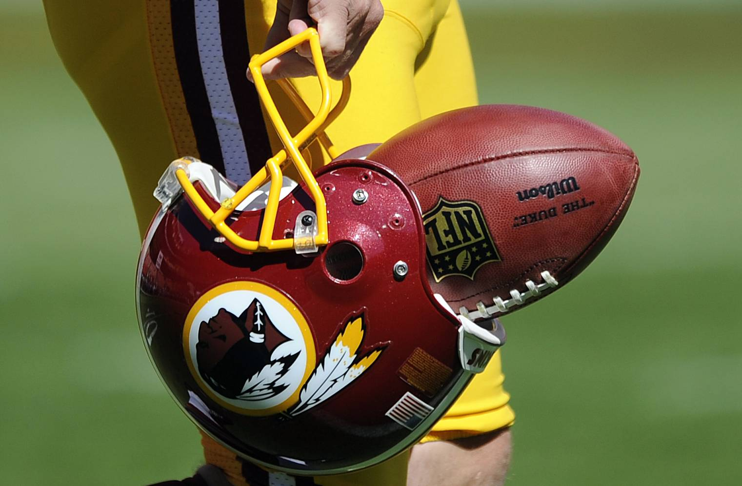 "The U.S. Patent Office ruled Wednesday, June 18, 2014, that the Washington Redskins nickname is ""disparaging of Native Americans"" and that the team's federal trademarks for the name must be canceled."