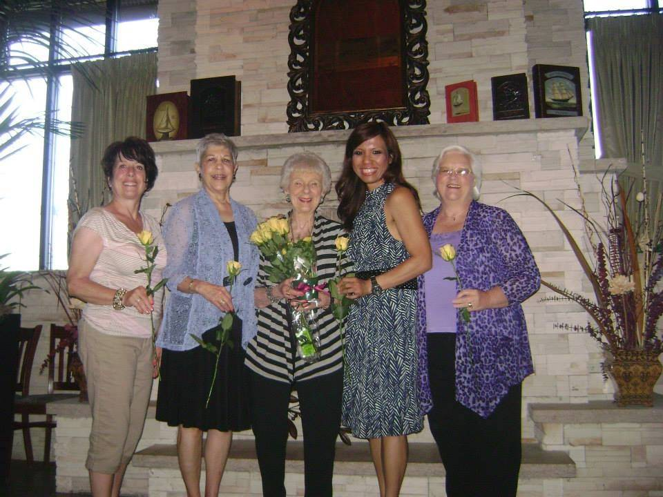 Bartlett Woman's Club officers, pictured from left are: Treasurer Marilyn Pocius Perri; secretary Mary Ann Andrews, Bartlett Woman's Club member Naomi White; President Kathleen Malick; and first Vice President Maureen Glowacki. Not pictured: Second Vice President Roberta J. Daniel.
