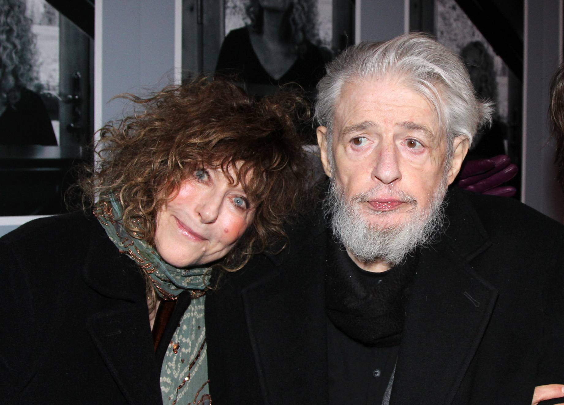 "Lyricist Gerry Goffin with his wife Michelle at the opening night of ""Beautiful: The Carole King Musical,"" in New York."