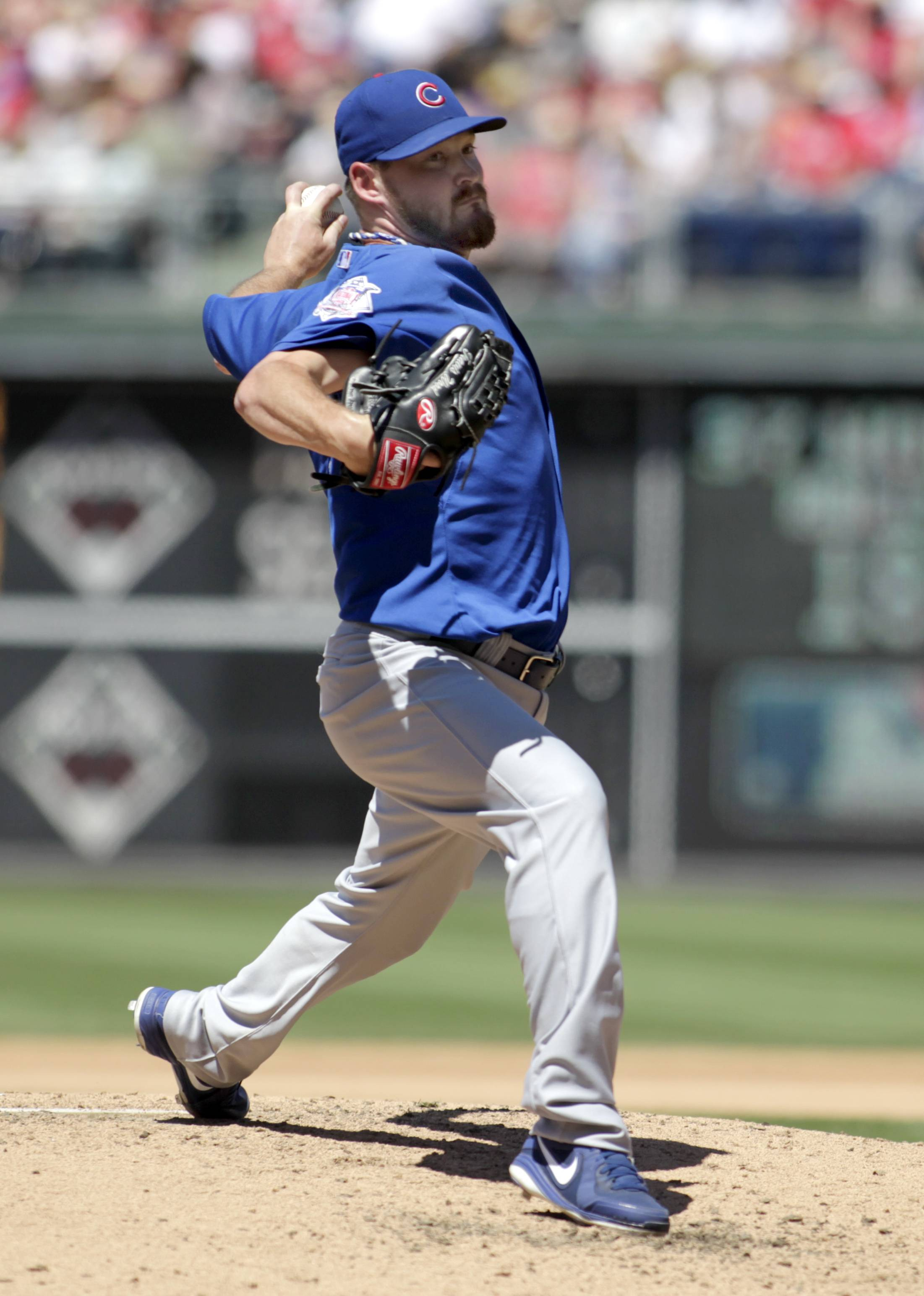 Travis Wood sure looks like the real keeper in the Cubs' rotation these days.