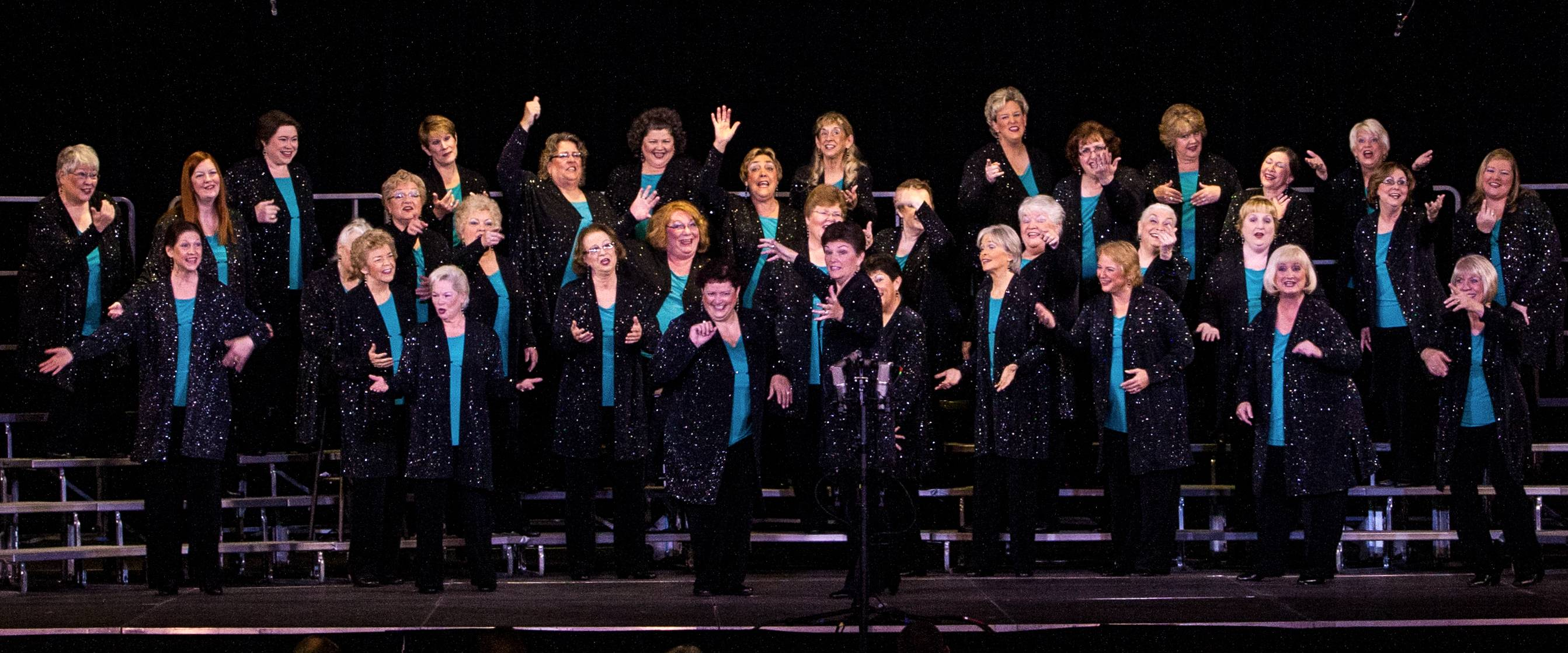 The Village Vocal Chords last competed in November in Windsor, Ontario, Canada, where they became the organization's championship chorus for an unprecedented 19 times.