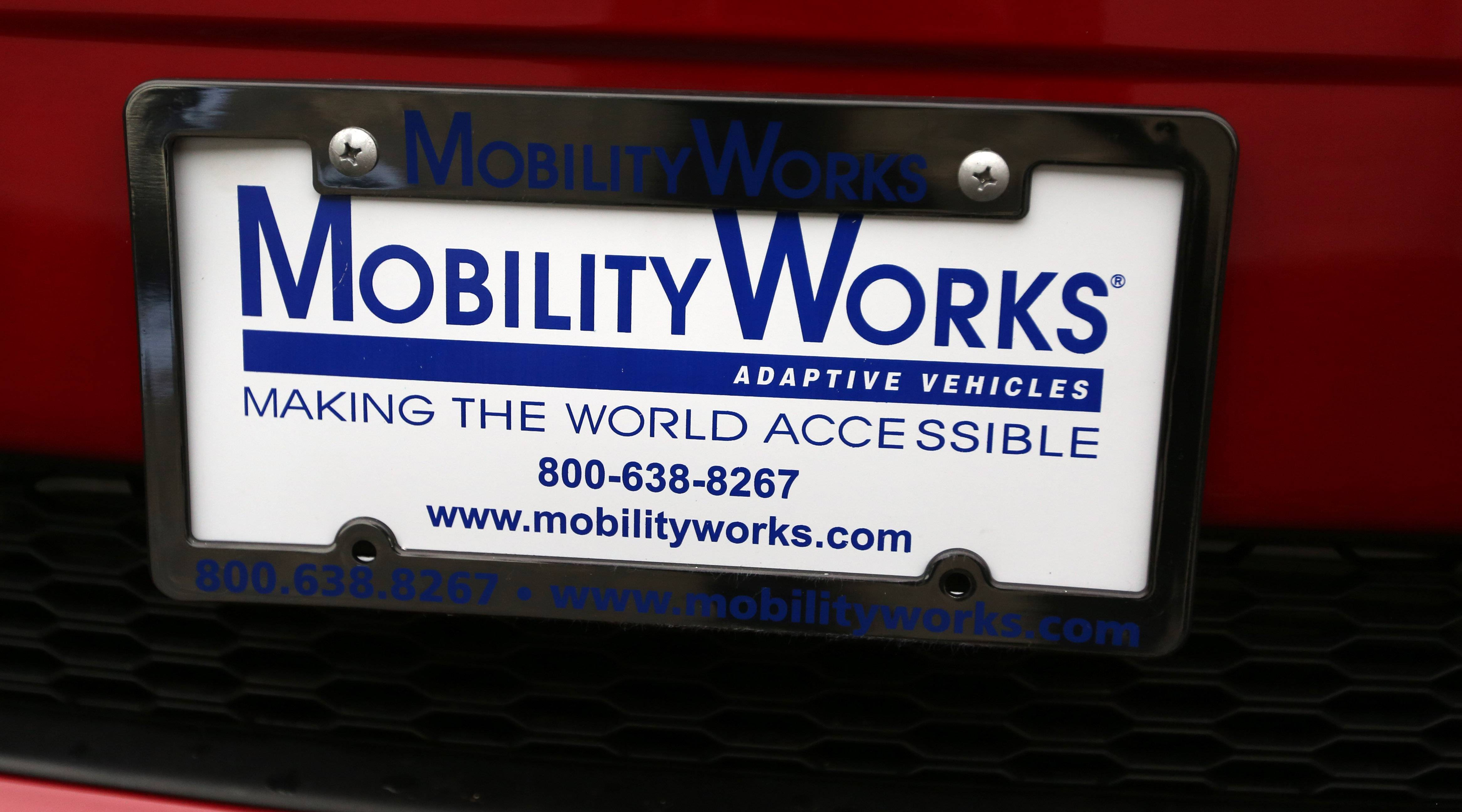 The Fulkerson family of Schaumburg bought their new van through Mobility Works, a national dealership specializing in vehicles modified to accommodate people with disabilities.