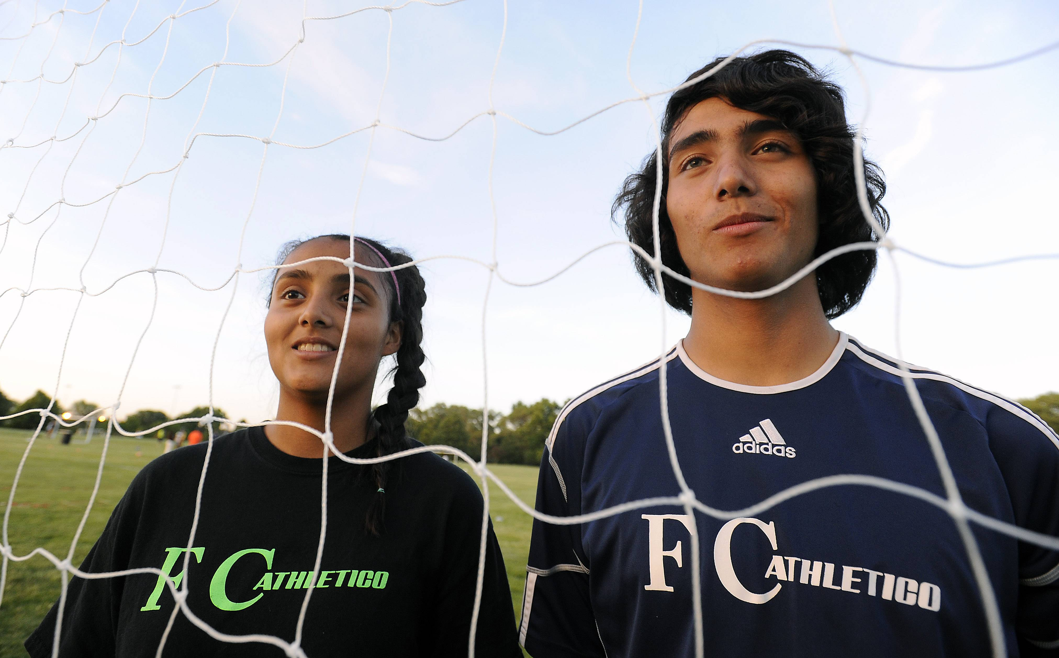 Wheeling siblings Luis, 15, and Alondra Arreola, 14, have their sights set on careers as professional soccer players. Luis is in the player pool for the U.S. national team, and Alondra has caught the eye of scouts for the Mexican national squad.