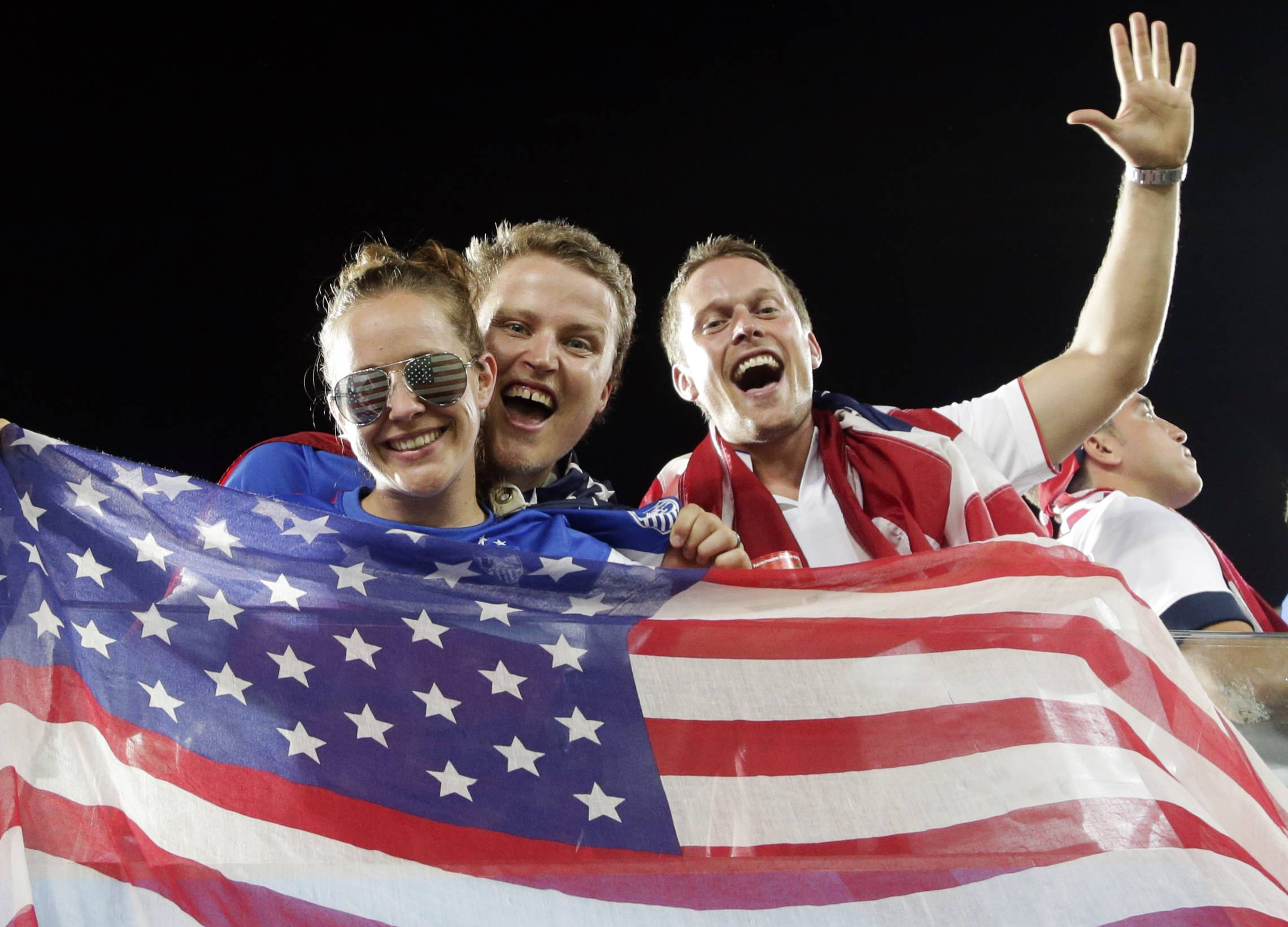 American fans had plenty to cheer about with the World Cup win over Ghana. Next up is a game with Portugal on Sunday.