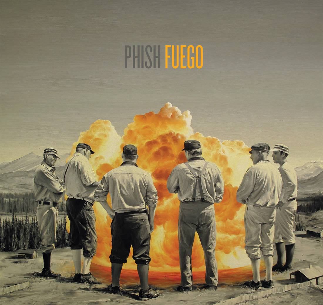 "Phish sounds like they were having fun on new album ""Fuego."""