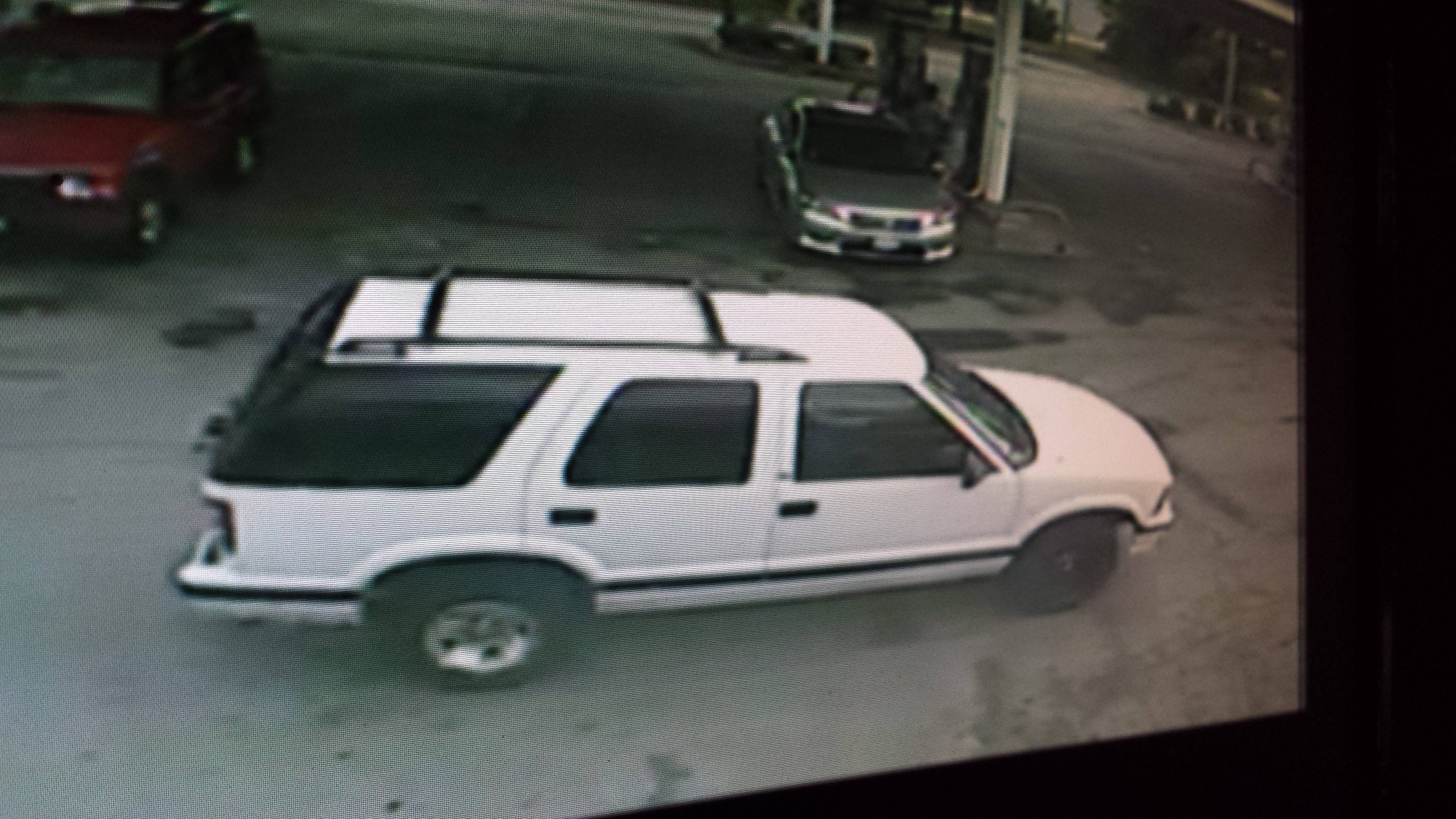 The man who attacked a woman near Libertyville on Sunday may have driven this vehicle, police say.