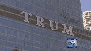 Donald Trump is coming to Chicago to see his name in lights.