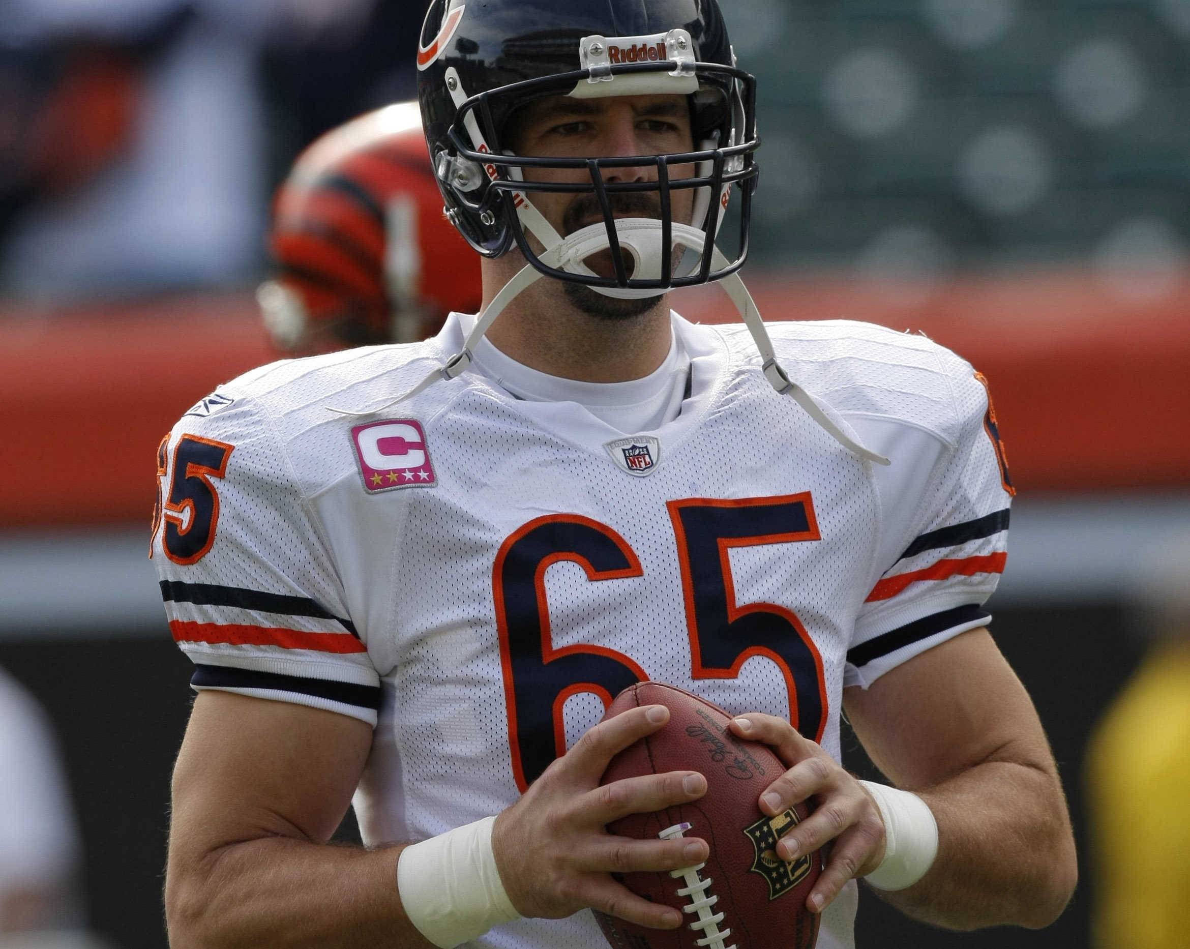 Long-snapper Patrick Mannelly, 245 games, is tops among most games played in Bears history