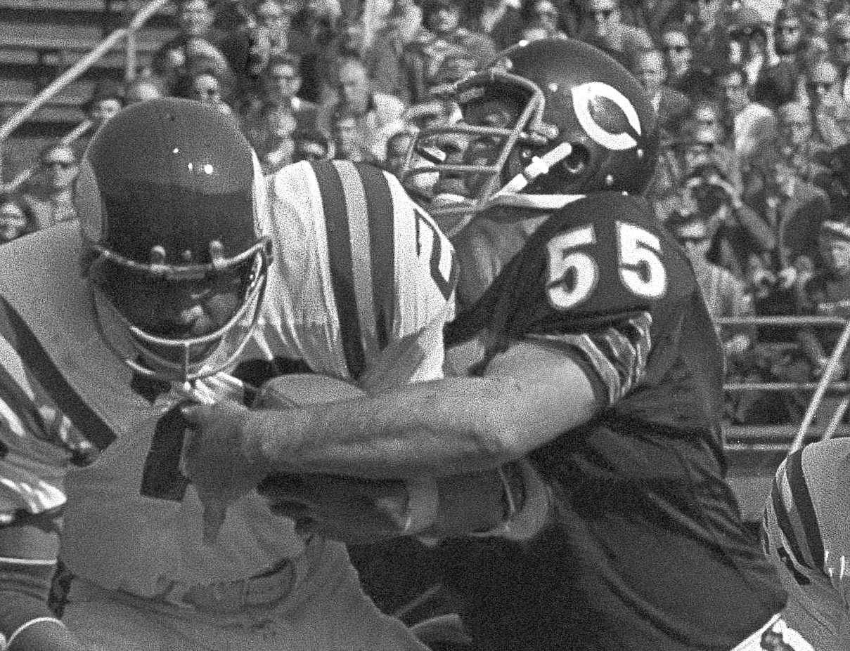 Linebacker Doug Buffone, 186 games, is tied for fifth among most games played in Bears history