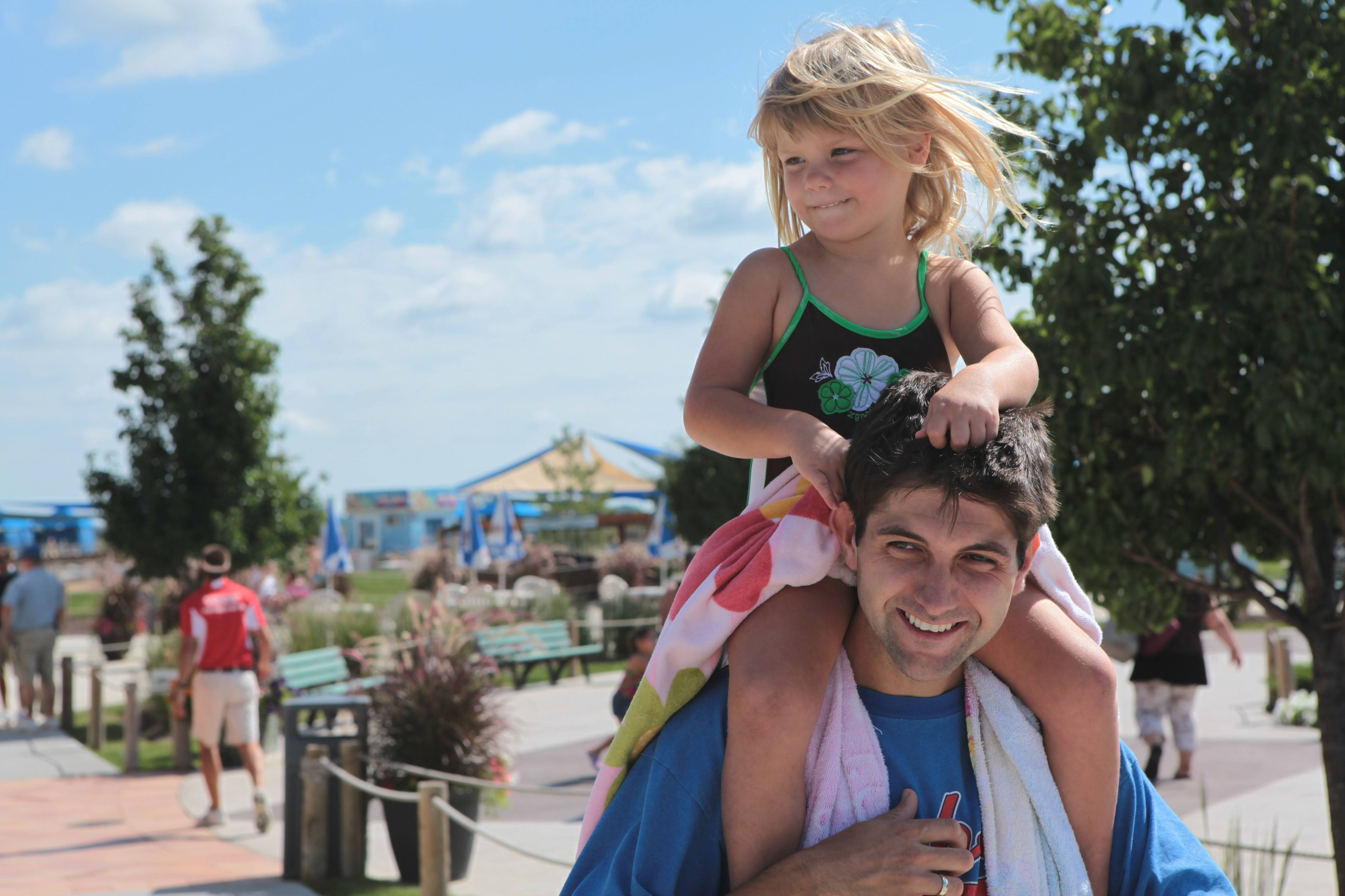 Raging Waves water park in Yorkville offers splish-splashing fun in the sun for the whole family.