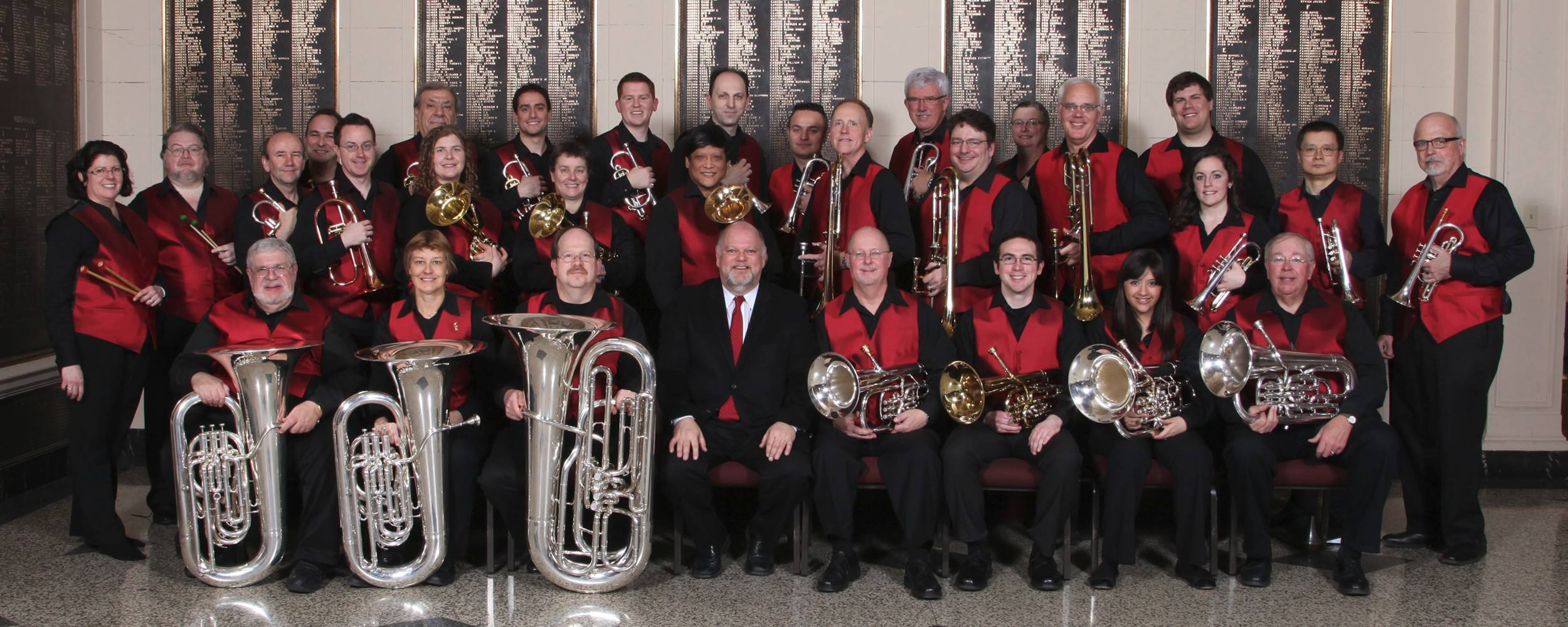 "The Illinois Brass Band  presents its ""Brass Spectacular"" concert."