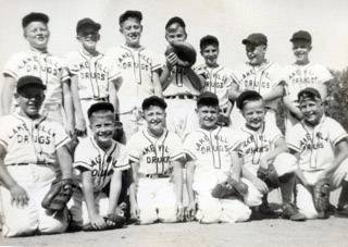This is a historical photo from the Antioch Youth Little League.