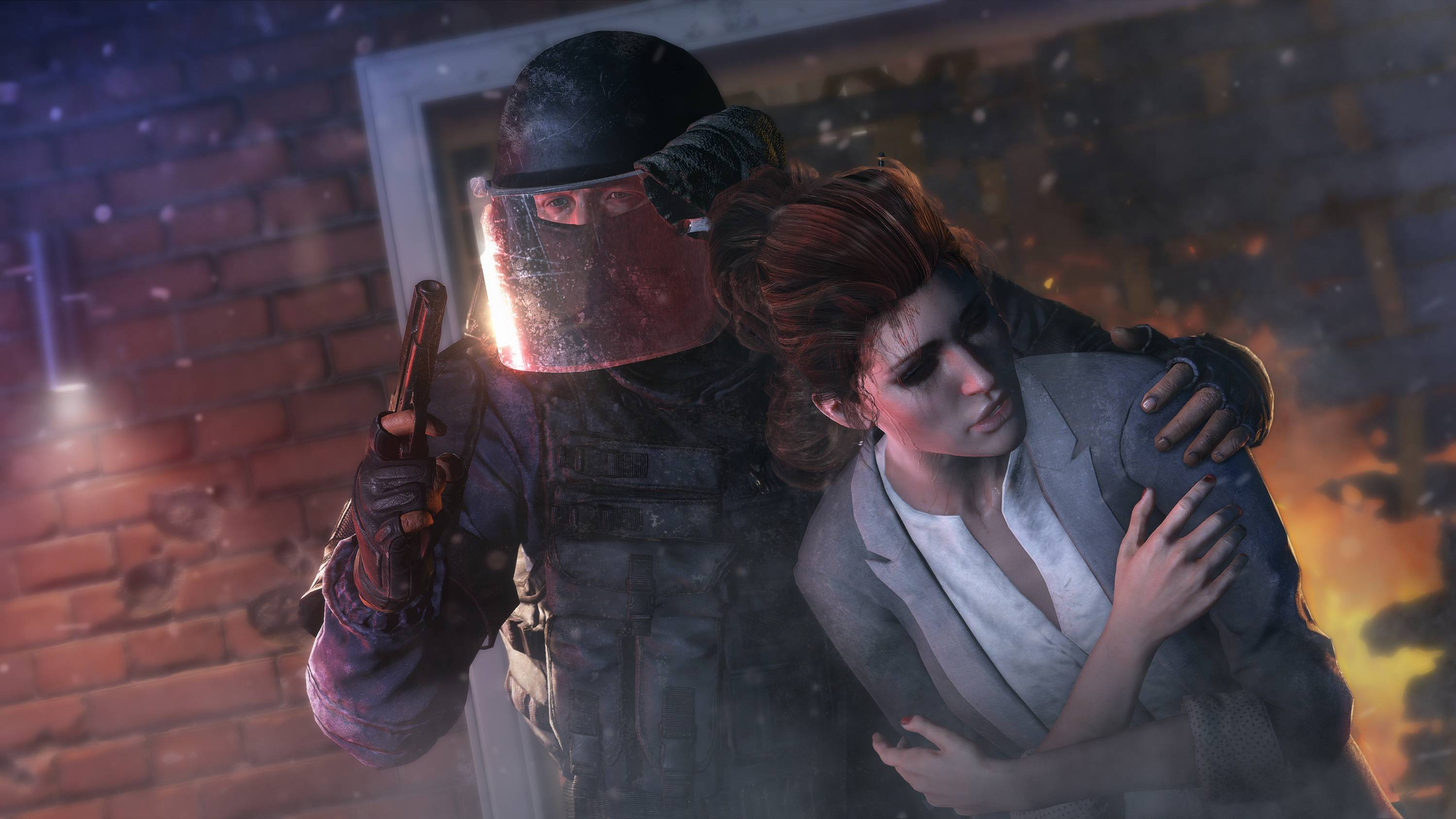 "This photo provided by Ubisoft shows a scene from the video game, ""Tom Clancy's Rainbow Six: Siege."" At last week's Electronic Entertainment Expo, video game developers hyped upcoming titles featuring assassins, super-soldiers, vigilantes and demon hunters. The lack of female protagonists at E3 highlighted an ongoing issue that continues to haunt the video game industry."