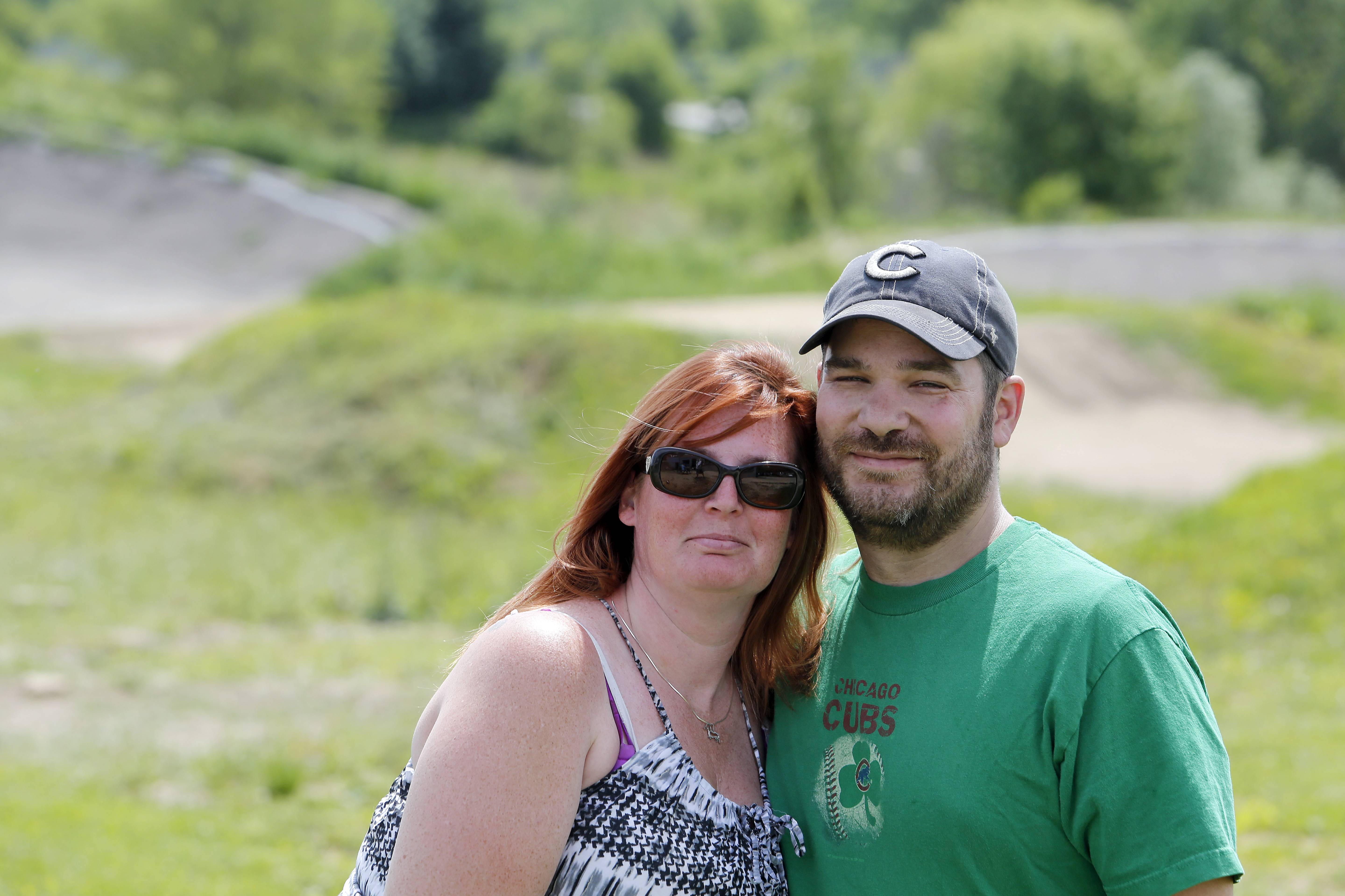 Jenna and Jim Barton are the new operators of the BMX track, known as The Hill, at the Elgin Sports Complex. They are trying to rebuild and attract more riders after attendance dropped off in the last few years.