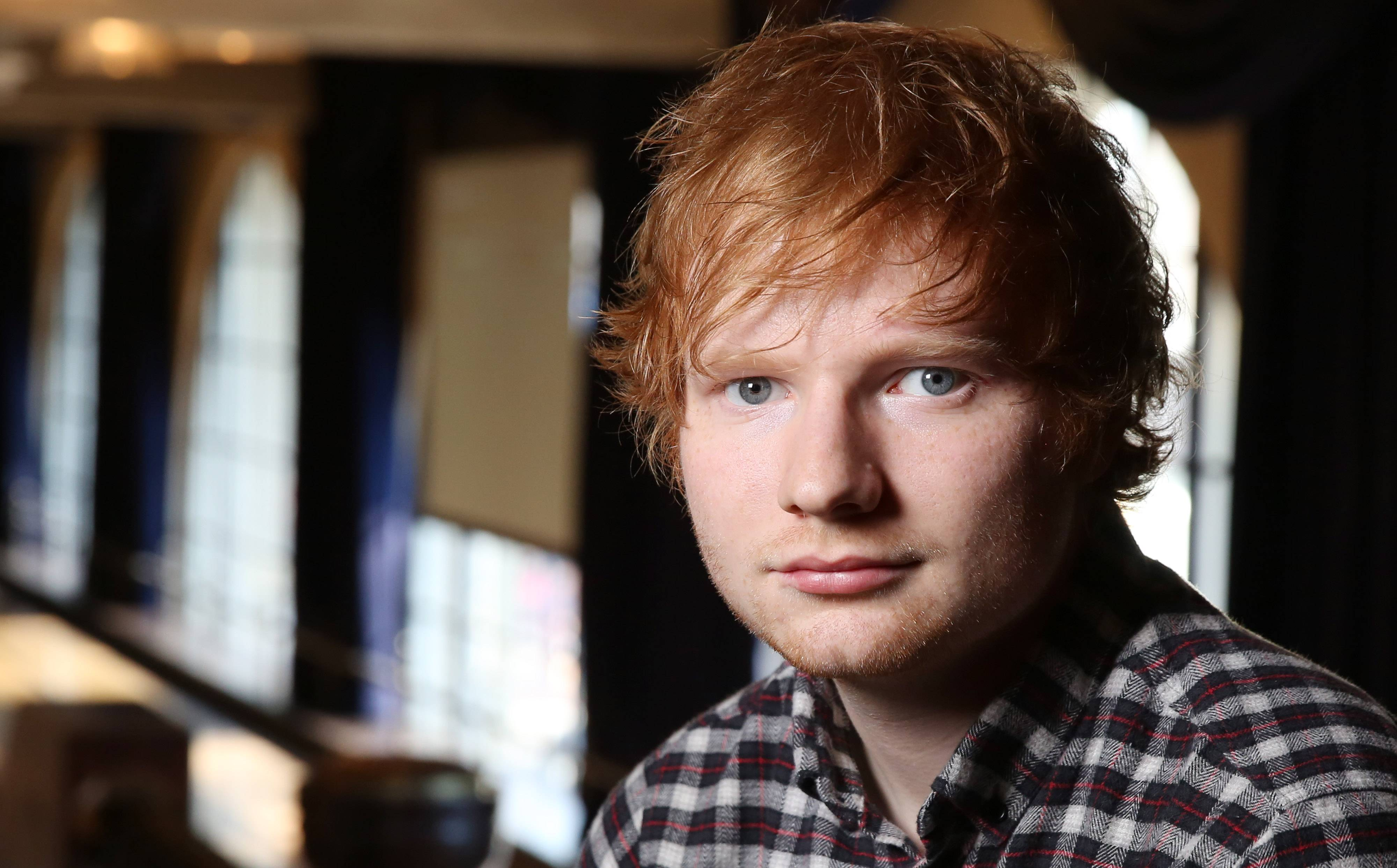"Ed Sheeran's ""X"" came out Monday. The 23-year-old singer-songwriter says the follow-up to his 2011 debut ""+"" features a certain ""rawness."""