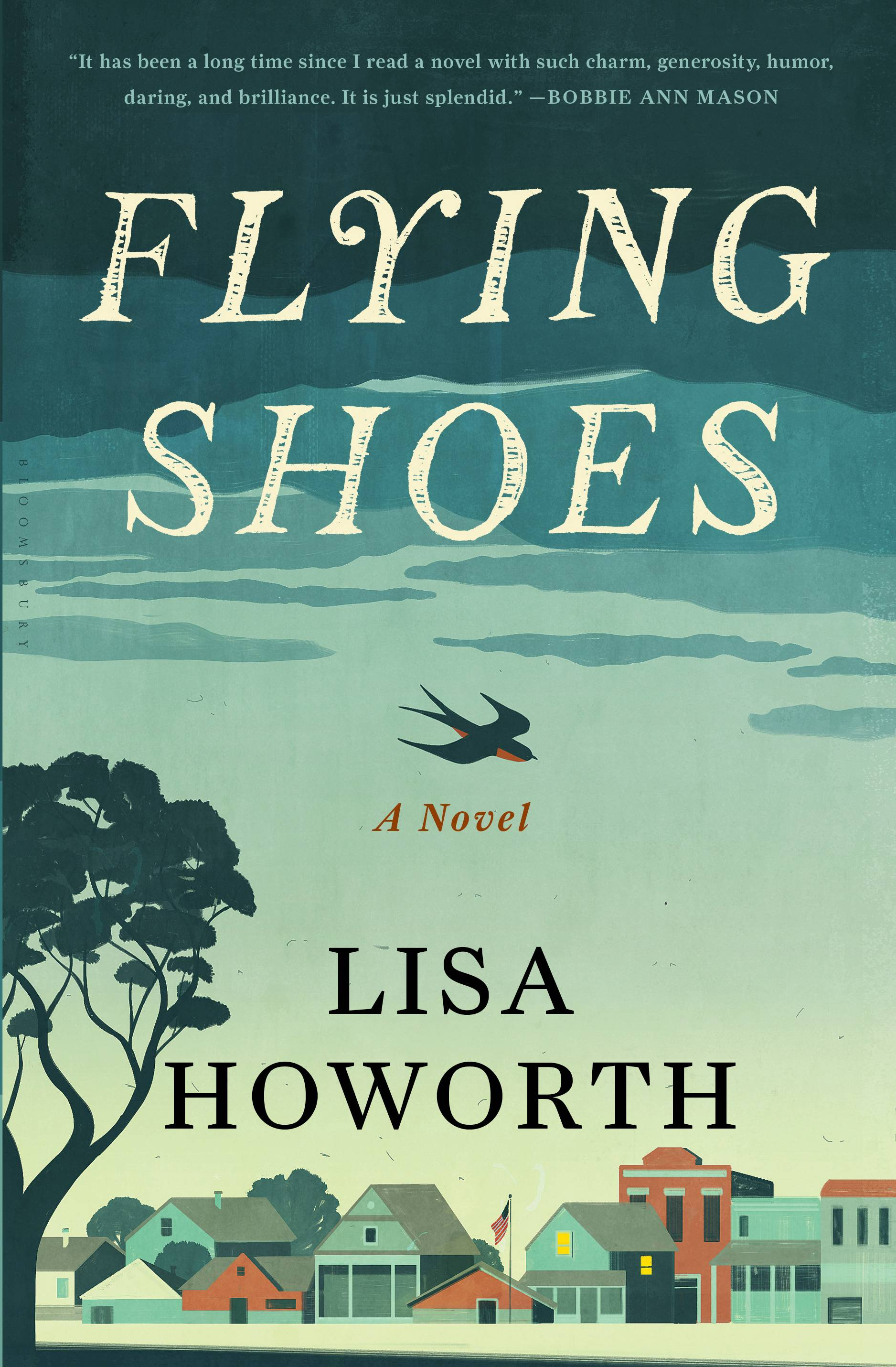 "Lisa Howorth's debut novel, ""Flying Shoes,"" weaves a memorable mosaic of a good-hearted woman at midlife, facing crises old and new."