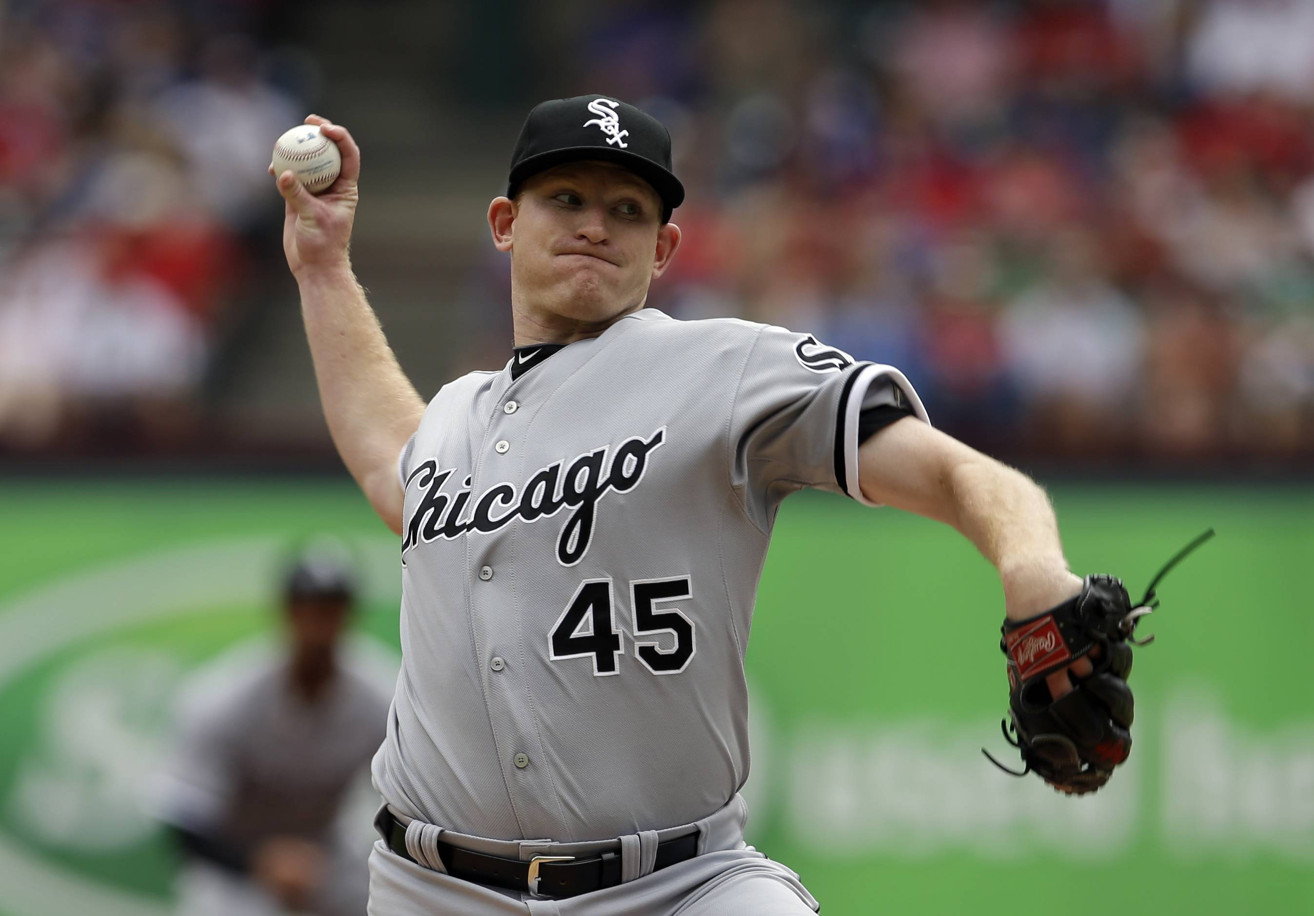 Starting pitcher Erik Johnson was a big disappointment in April, but he could find himself back in a White Sox rotation short on right-handers.