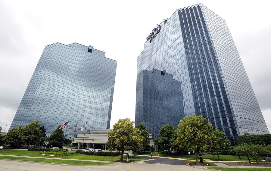 The employees of the Zurich Towers in Schaumburg will be moving into their new North America headquarters in 2016 near Meacham and Thoreau, now called Zurich Way, on the Motorola Solutions campus.