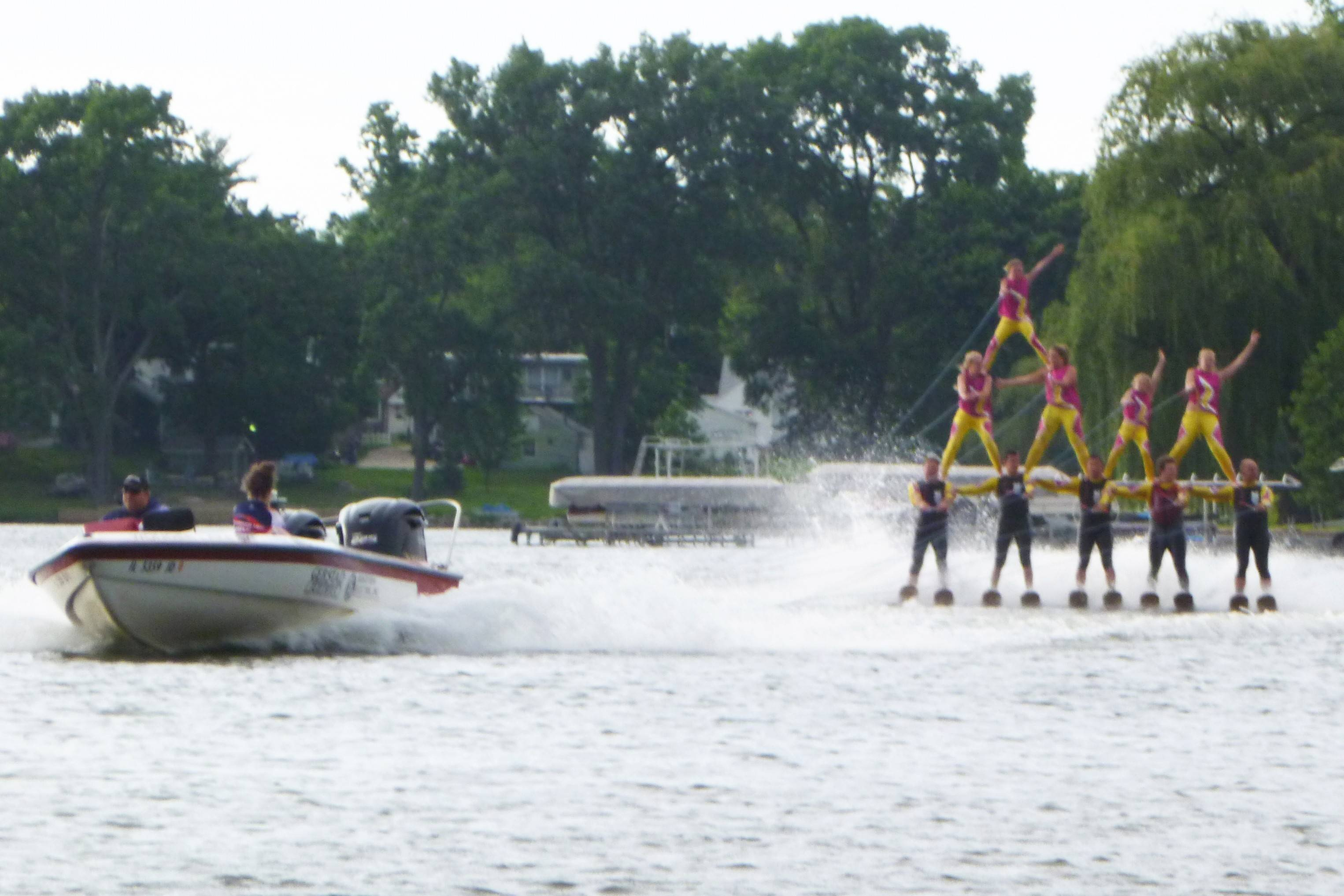 The Wonder Lake Water Ski Show Team performs at 5 p.m. Saturday, June 28, as part of the Mundelein Park & Recreation District's Community Picnic.