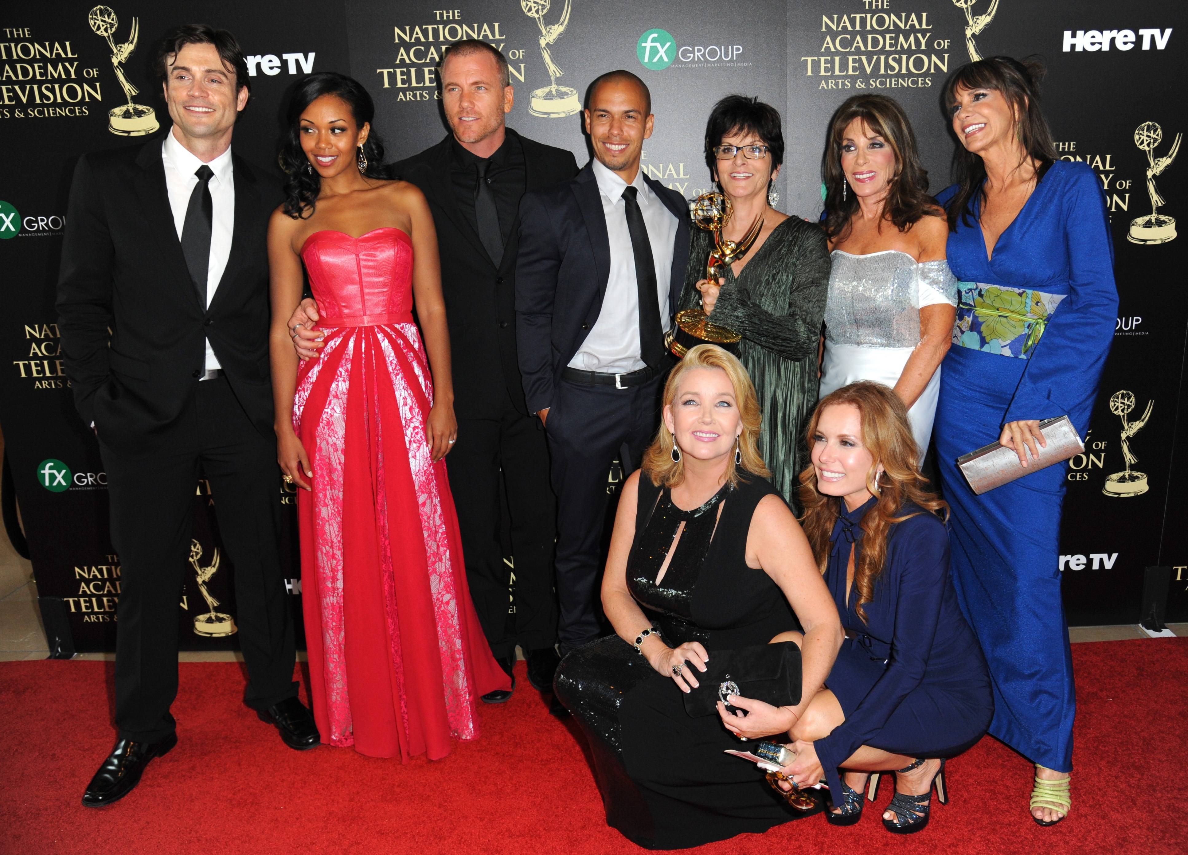 "The cast and crew of ""The Young and the Restless"" took home the award for outstanding drama series at the 41st annual Daytime Emmy Awards Sunda."