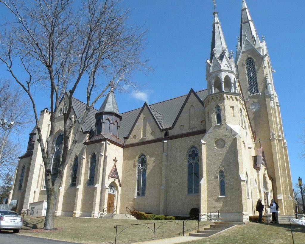 The century-old St. John the Baptist Church will receive a historic plaque from the McHenry County Historical Society on June 29.