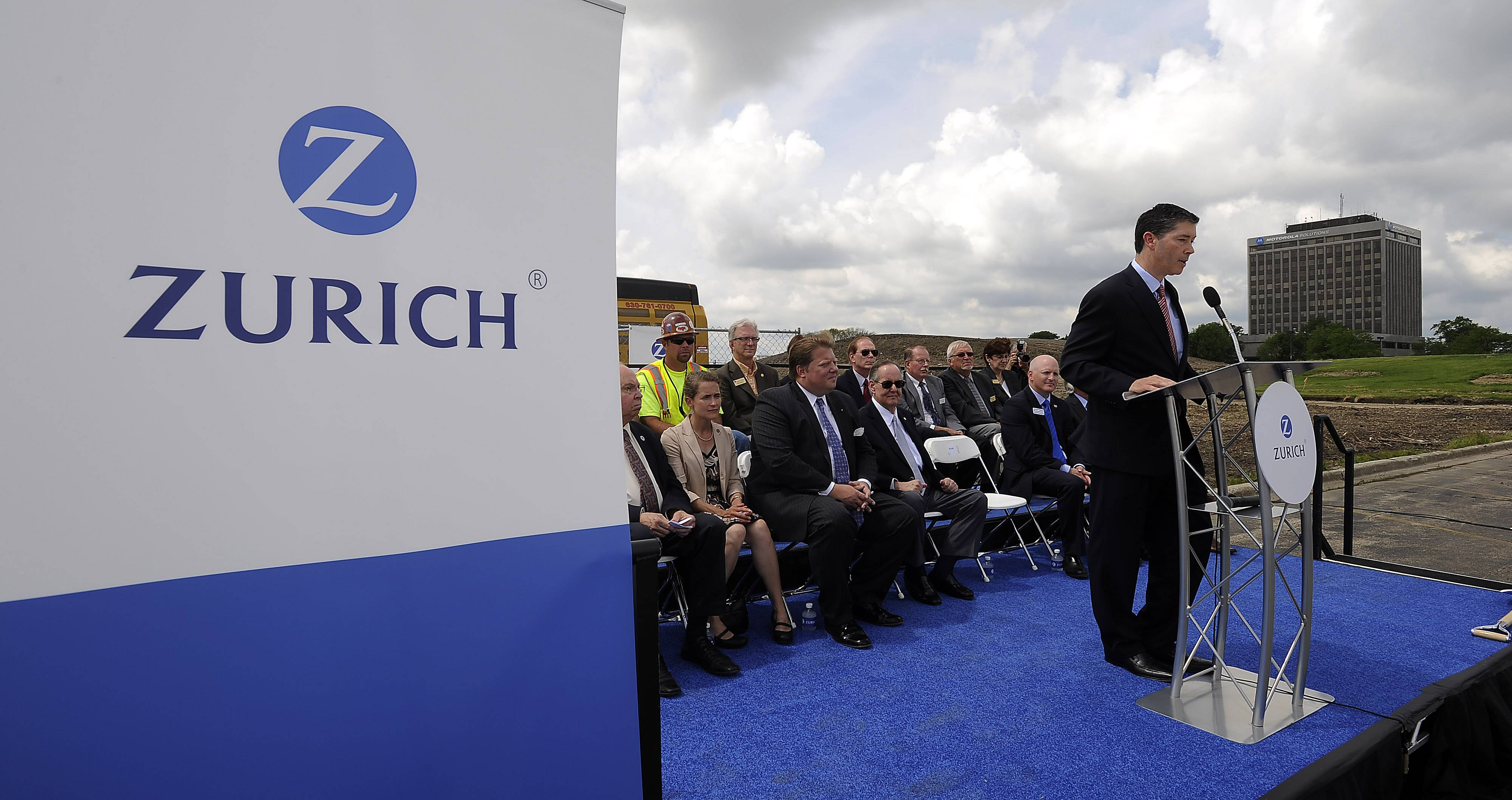 "The headquarters will ""stand as a very public confirmation of our strong position in the U.S.,"" Zurich North America Commercial CEO Mike Foley said."