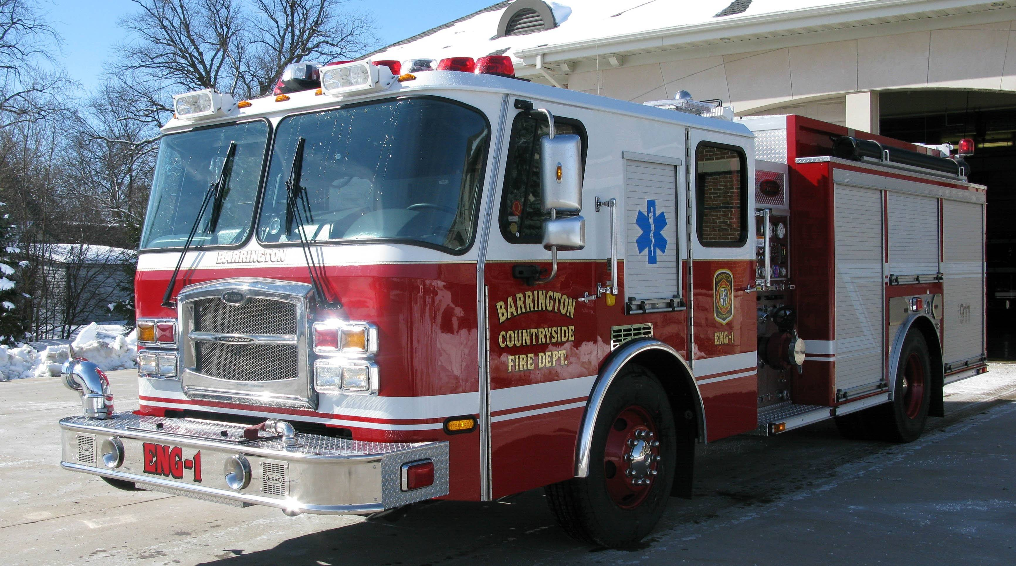 The Barrington Countryside Fire Protection District and Barrington Fire Department have reached a deal governing when, how and where the two agencies will respond to emergencies in the other's jurisdiction. The deal was ratified by both sides Monday night.