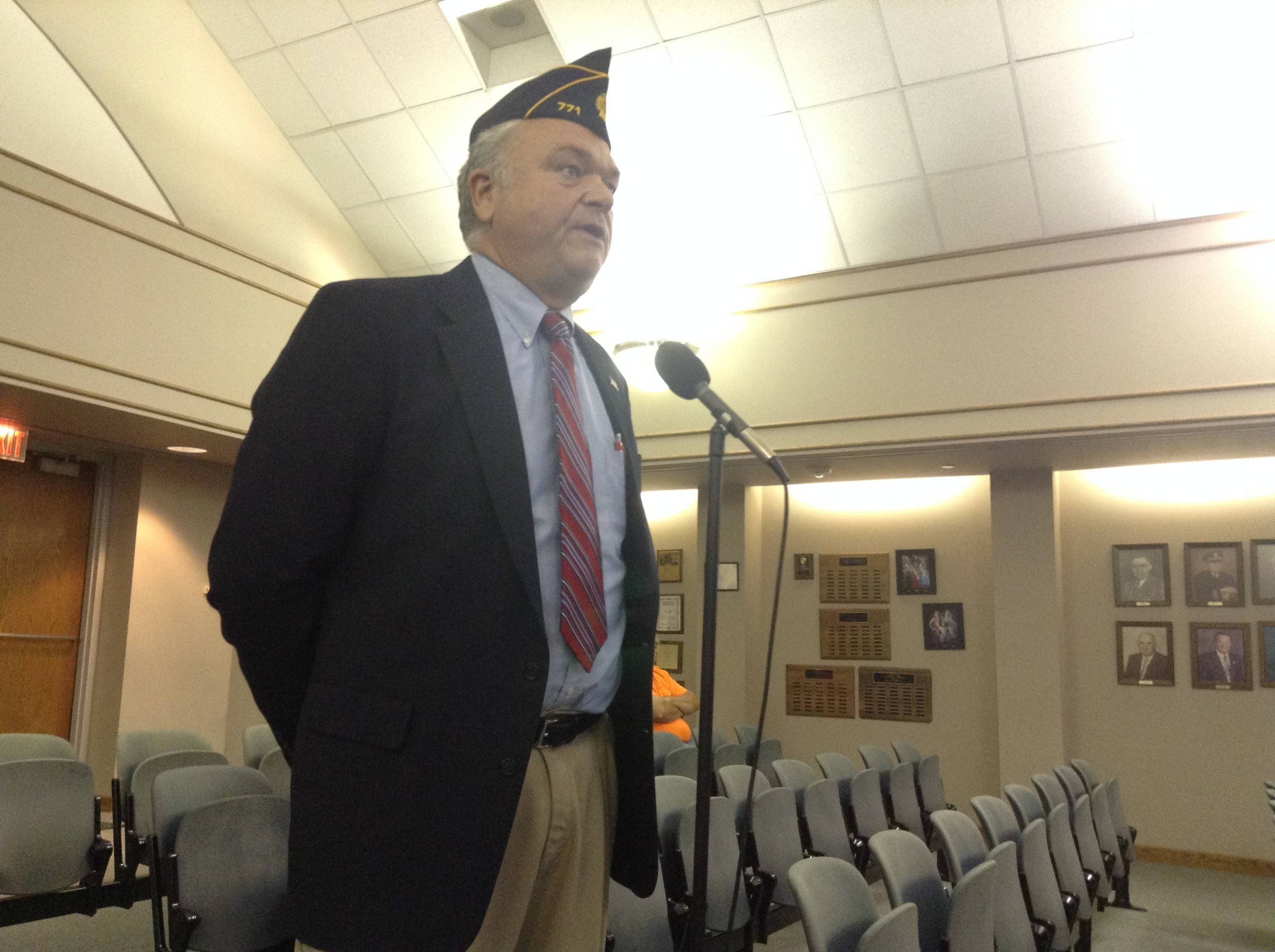 American Legion Post 771 strategic planning chairman James Huisel discusses how video gambling would boost the organization's finances.
