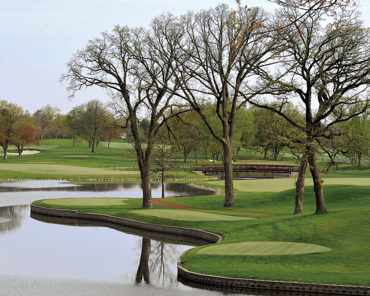 Course No. 1 at Medinah reopened this month, and architect Tom Doak created six new holes and made adjustments to 12 other holes as part of the renovation.