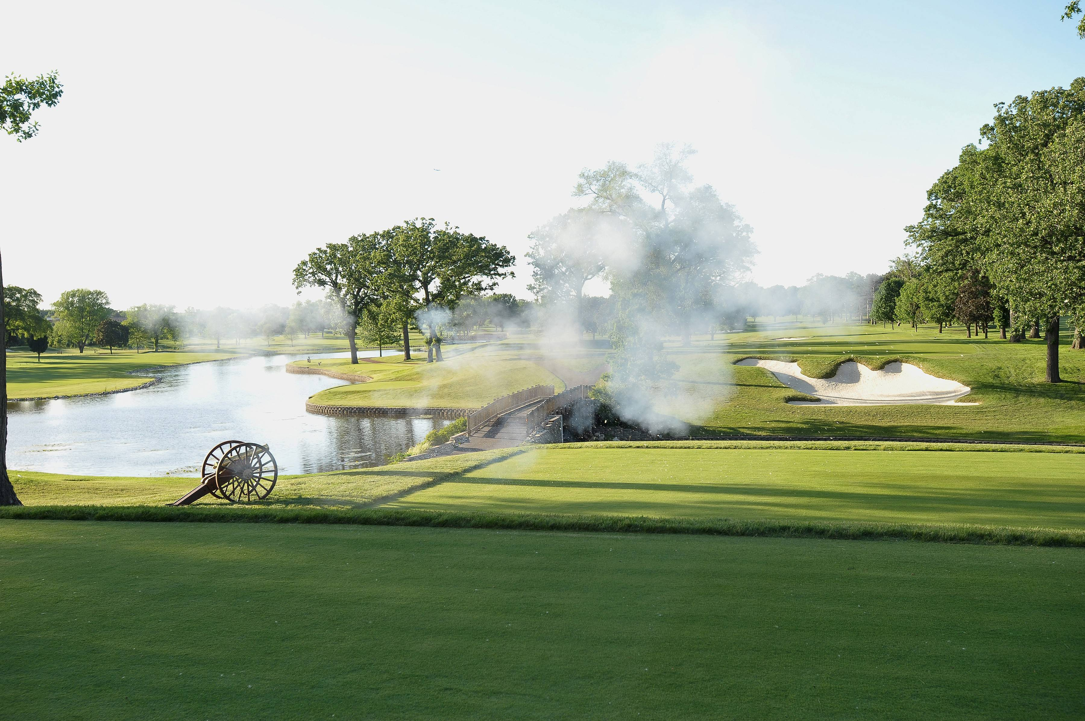 For the ribbon-cutting ceremony on June 13, golf course architect Tom Doak lit the fuse on a celebratory cannon blast that marked the beginning of a new era at 90-year-old Medinah Country Club. Members say a $6.5 million renovation of Course No. 1 will make it a rival of the popular No. 3 course.