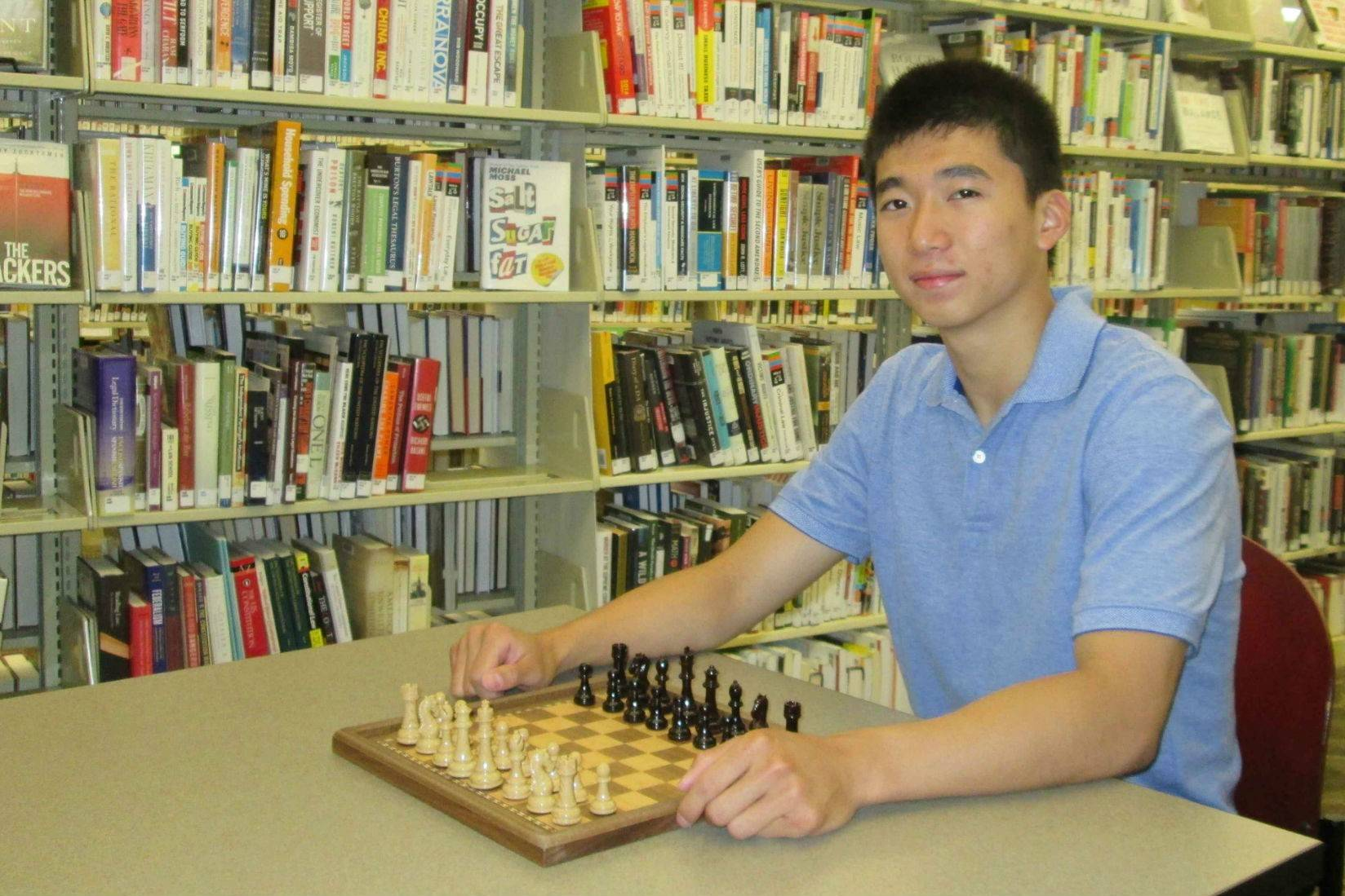 Michael Ding suggested starting a chess club at Lisle Public Library -- and library leaders jumped on the idea.