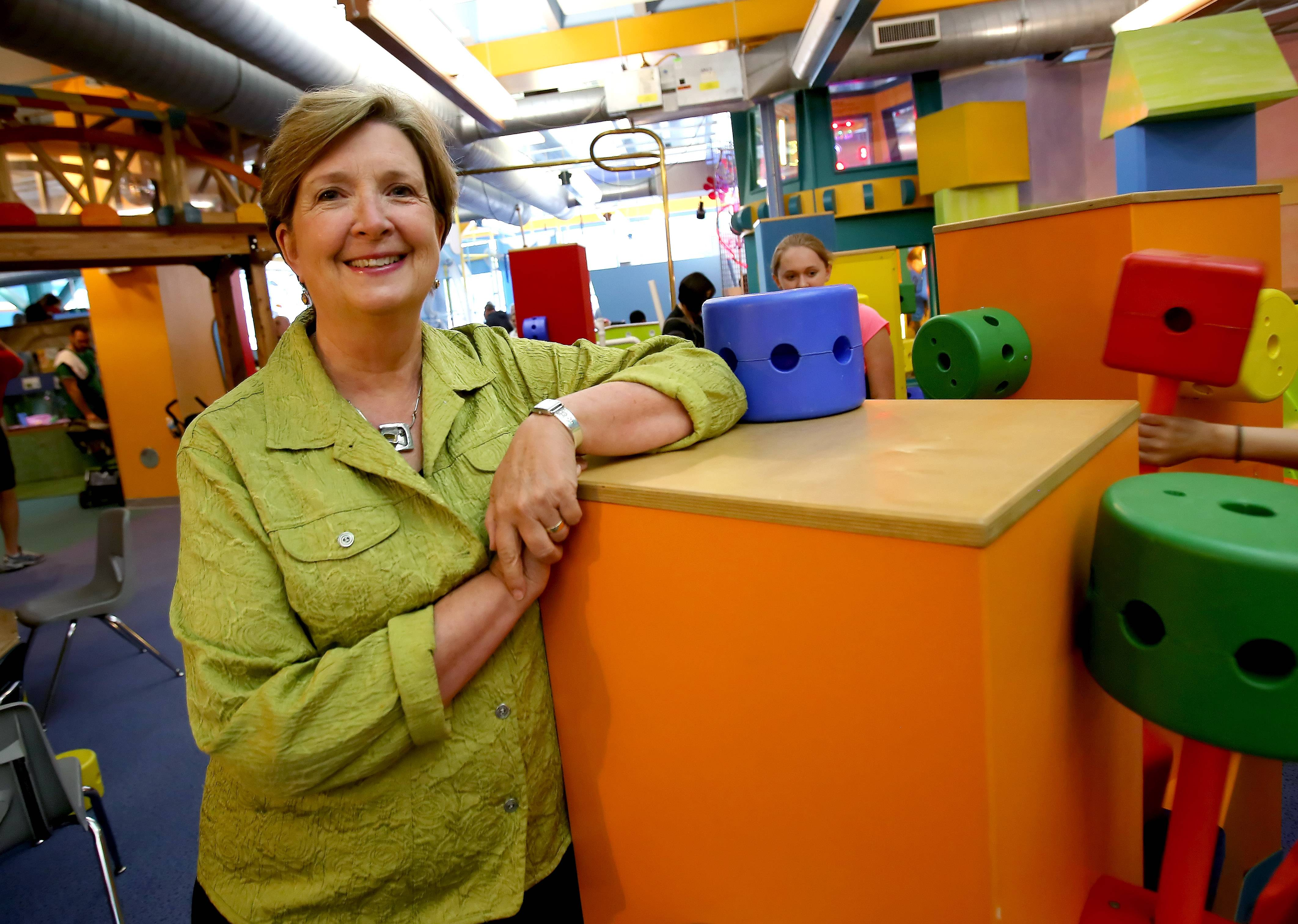 Sarah Orleans says she is working to build new exhibits and partnerships as President and CEO of the DuPage Children's Museum.