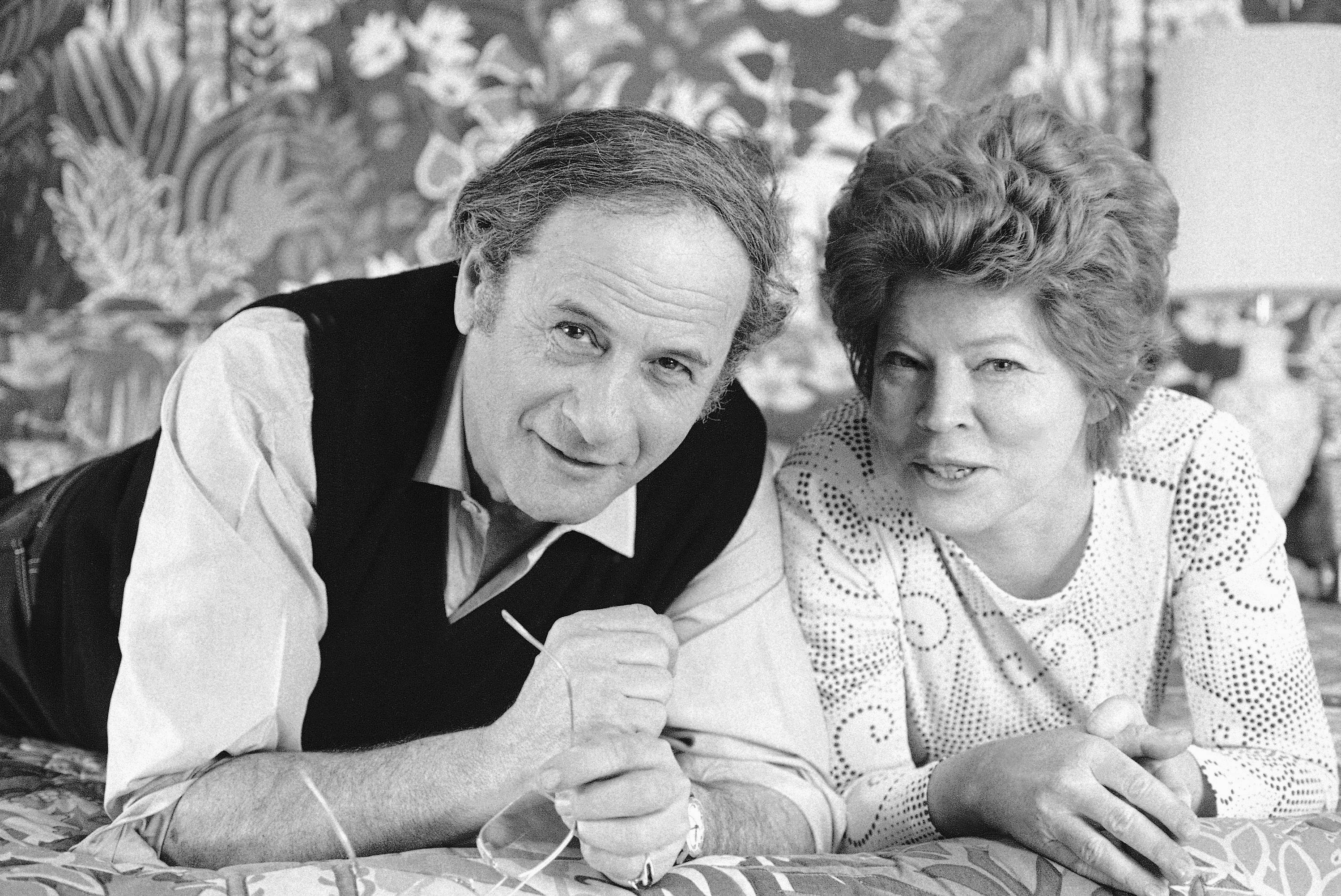 "Eli Wallach and his wife, Anne Jackson, starred in the Broadway comedy ""Promenade All!"" in New York. Wallach died Monday."
