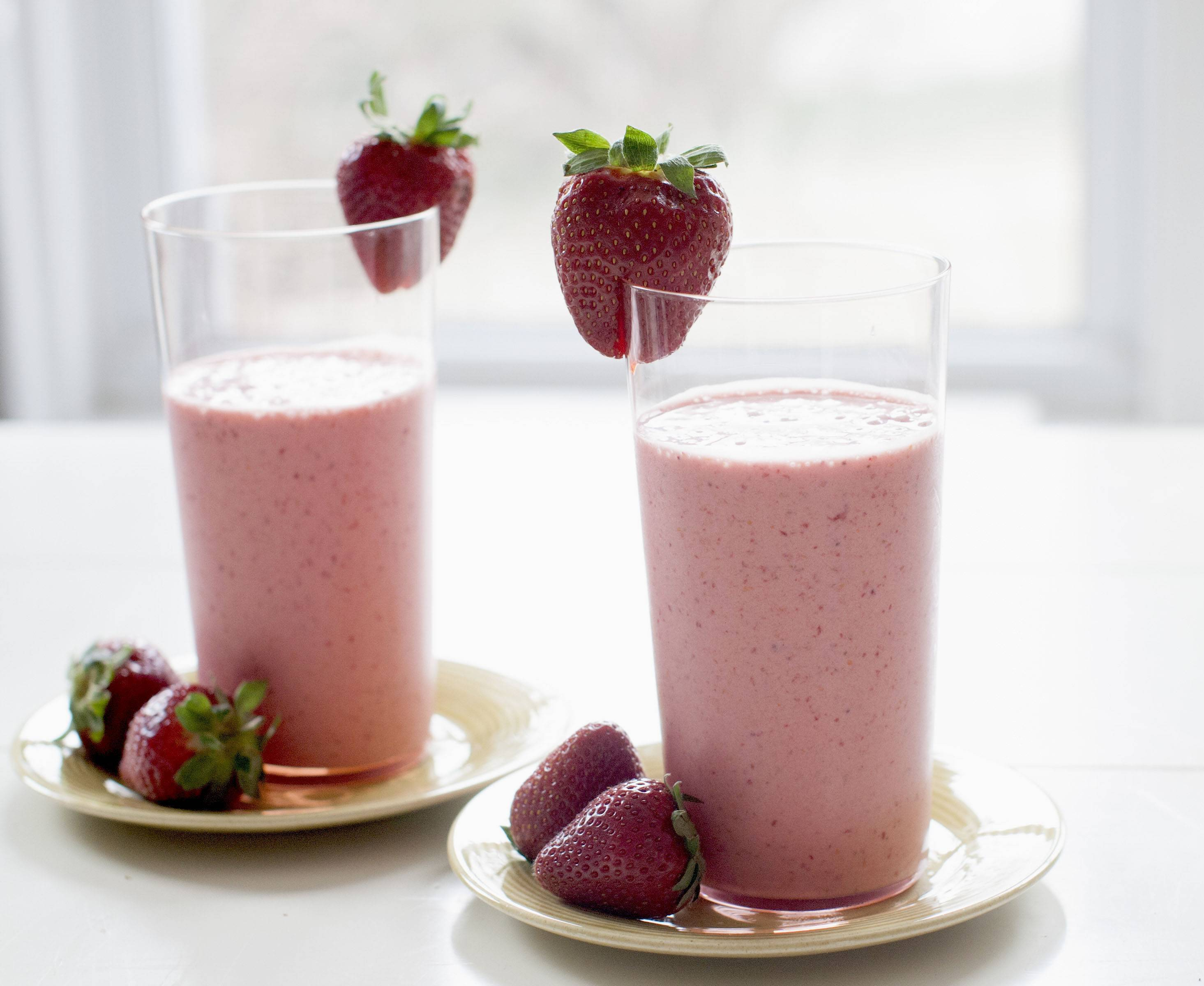 Stawberry Elderflower Frappe