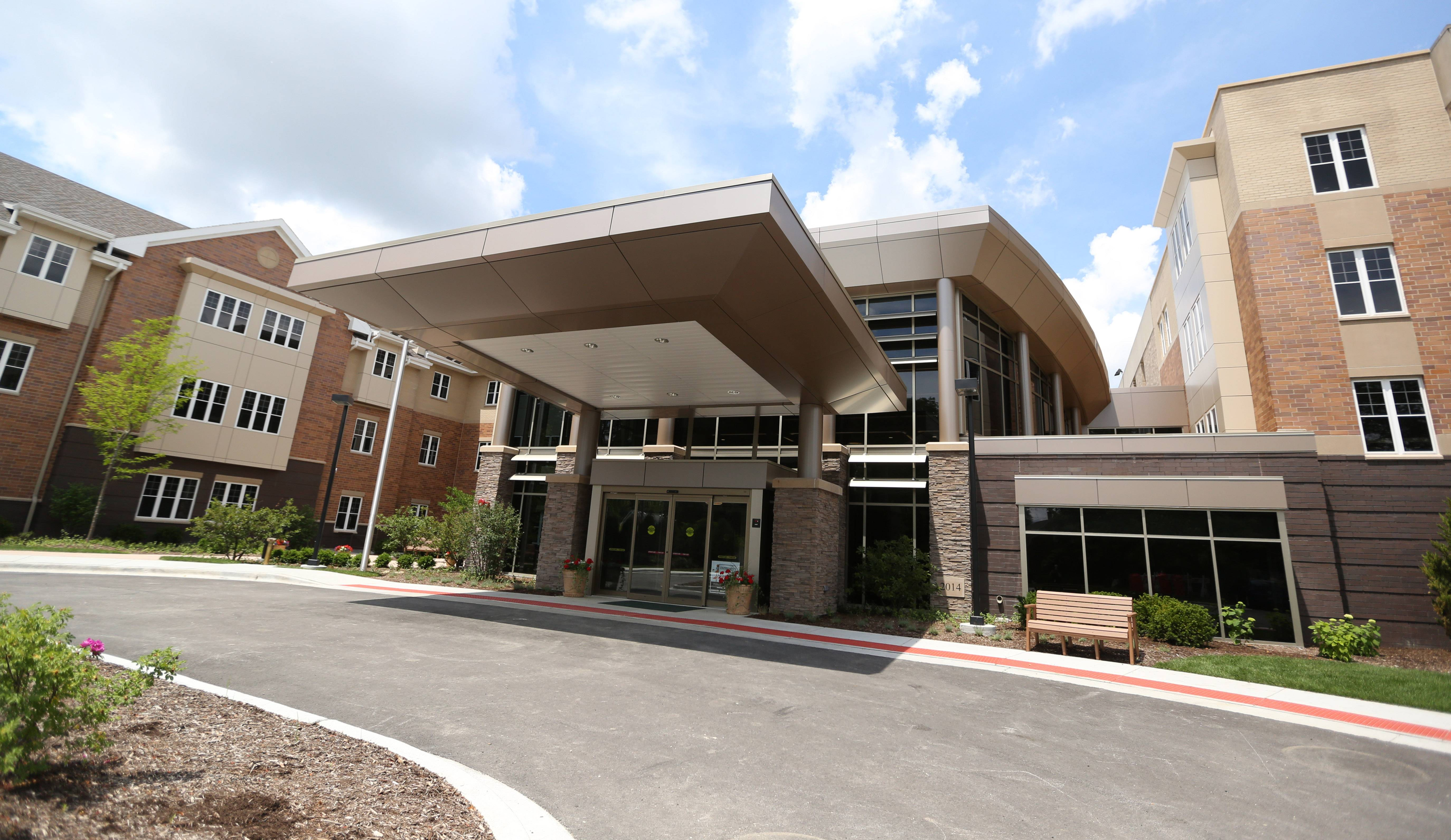 The Lutheran Home's new MyRehab Center opens Wednesday at the Arlington Heights facility. The center is the first of a three-part, $64 million project to modernize and renovate Lutheran Home.