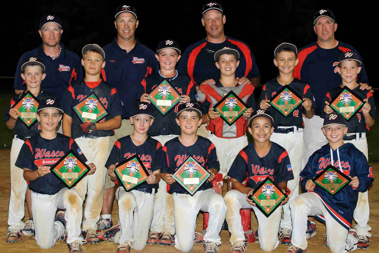 "The Wasco Wildcats, a 10U travel baseball team, won the USSSA ""AA"" Illinois State Championship on June 22."