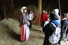 Visitors learn about 1880s farm life from interpretive staff.Schaumburg Park District