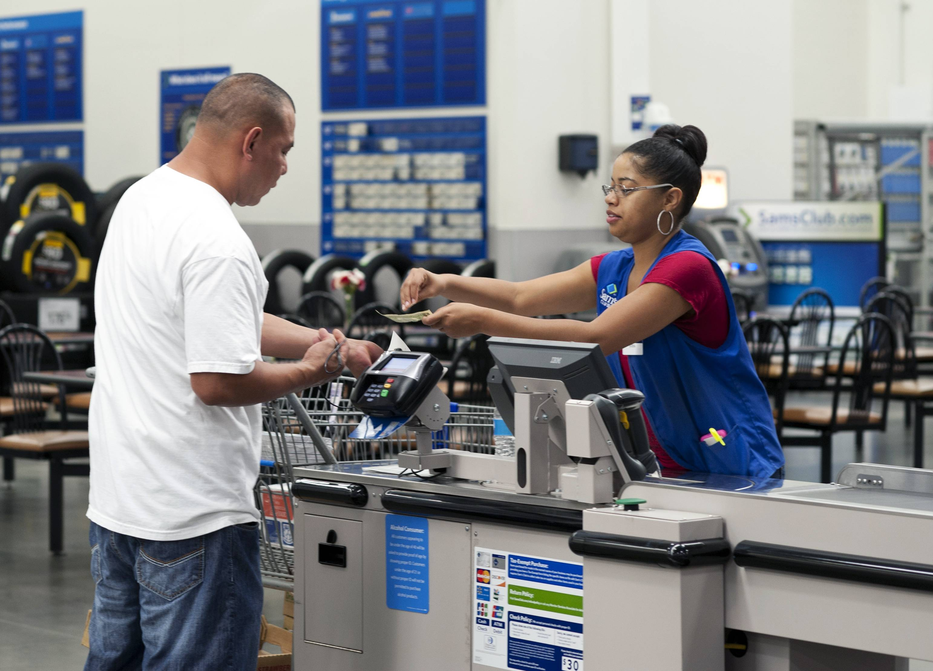 U.S. consumers stepped up their spending by only a modest amount in May, a disappointment to economists who said the weaker-than-expected performance will likely mean less of a rebound in economic growth in the April-June quarter.