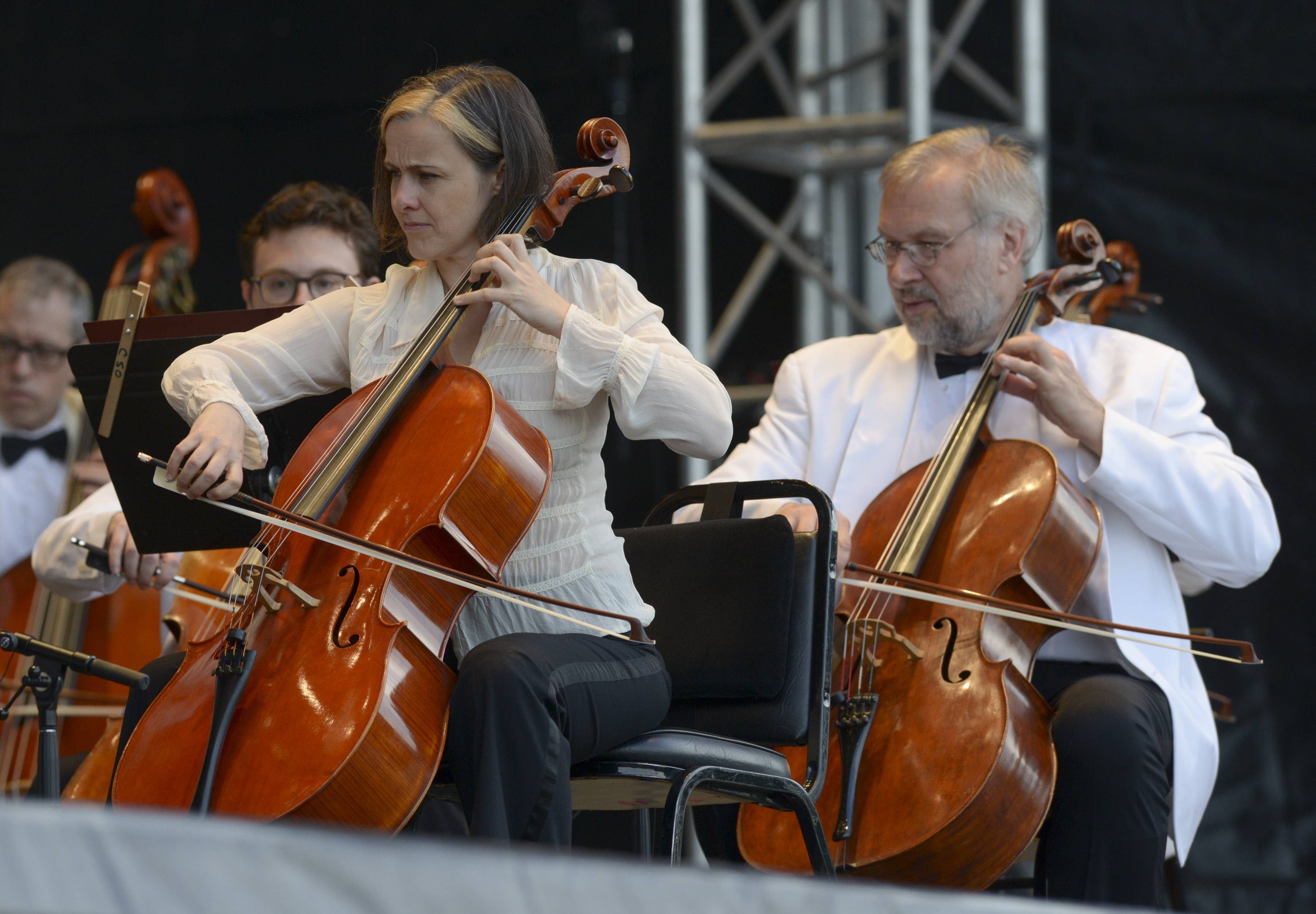 The Chicago Symphony Orchestra performs their first of three night at The Morton Arboretum in Lisle.