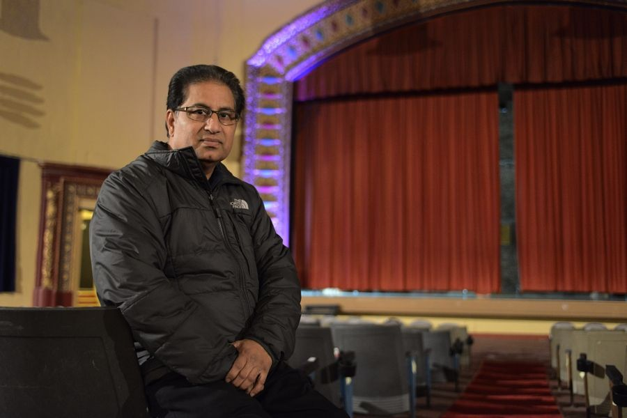 Des Plaines Theatre owner Dhitu Bhagwakar says he is considering two proposals that could include selling the building or contracting with someone to manage the venue.