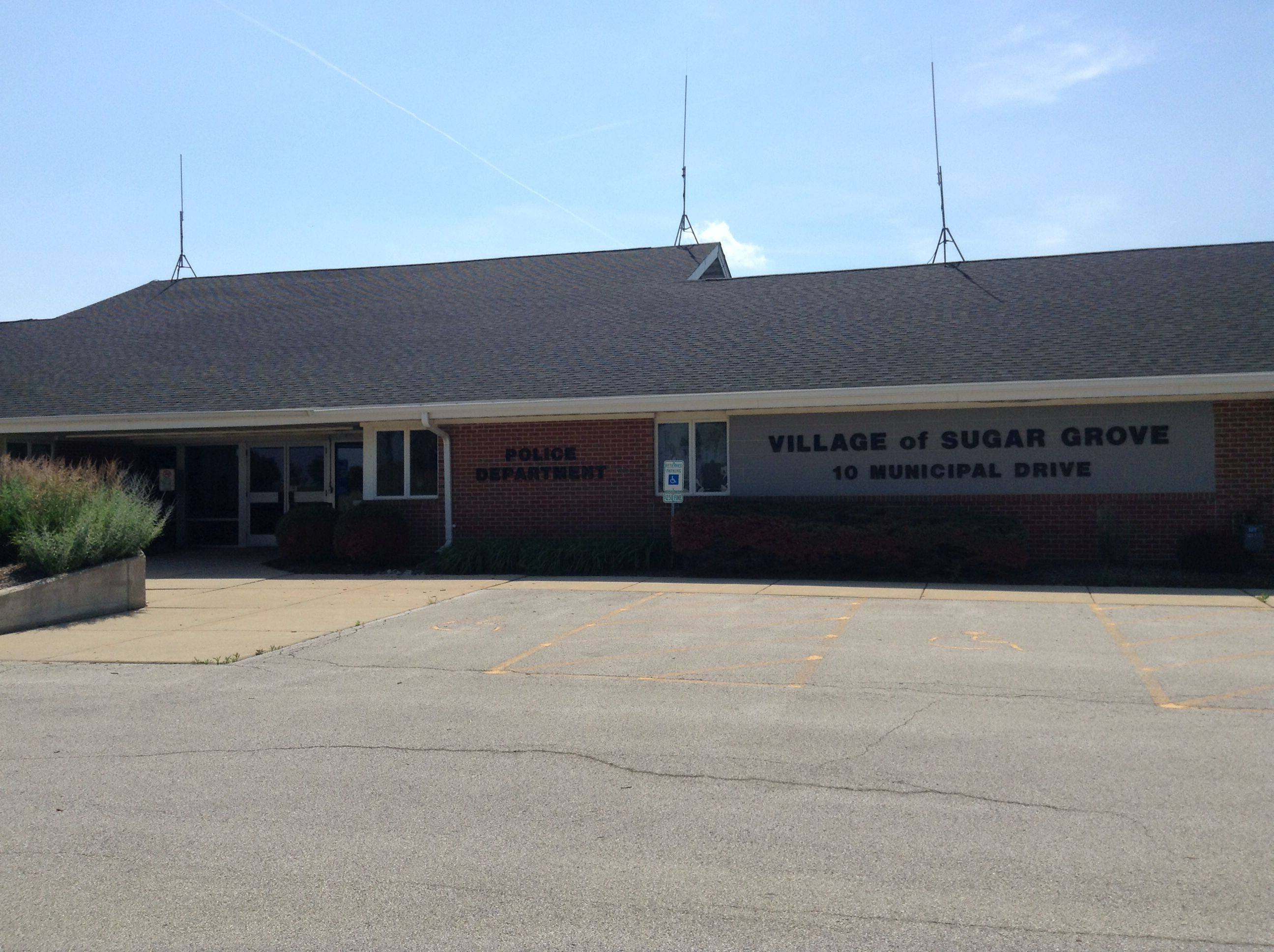 The current Sugar Grove village hall is at 10 S. Municipal Drive, but the village intends to move its finance and administrative offices to two buildings it bought down the street. The police department would then expand in the existing village hall.