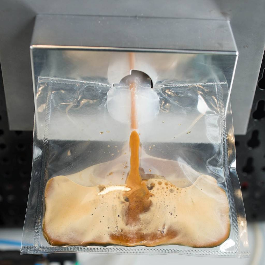 "This undated product image provided by Lavazza, shows a prototype of Lavazza's and Argotec's ""ISSpresso"" machine. The final version of the coffee machine will be the first real Italian espresso machine on The International Space Station, and will coincide with a six-month mission by Italy's first Italian female astronaut, Samantha Cristoforetti."