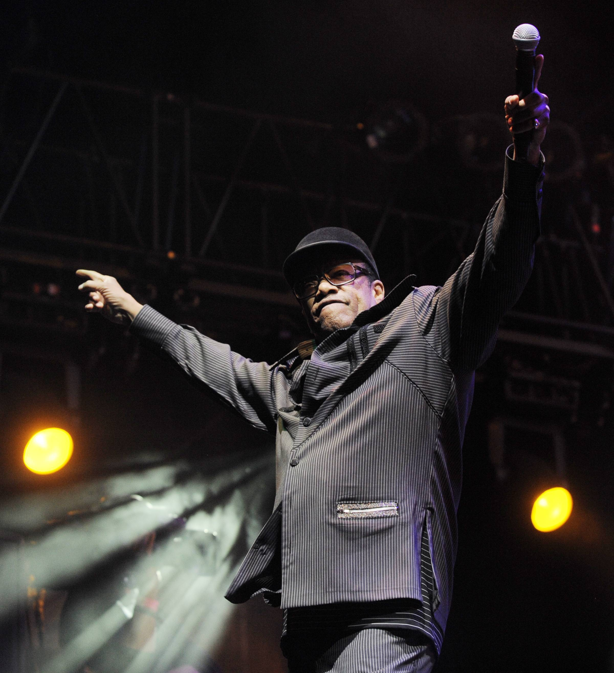 Singer Bobby Womack, shown here performing with Gorillaz at Coachella Valley Music and Arts Festival in 2010, has died. Womack's publicist Sonya Kolowrat confirmed to The Associated Press on Friday, June 27, 2014, that the singer died but had no other details to provide.