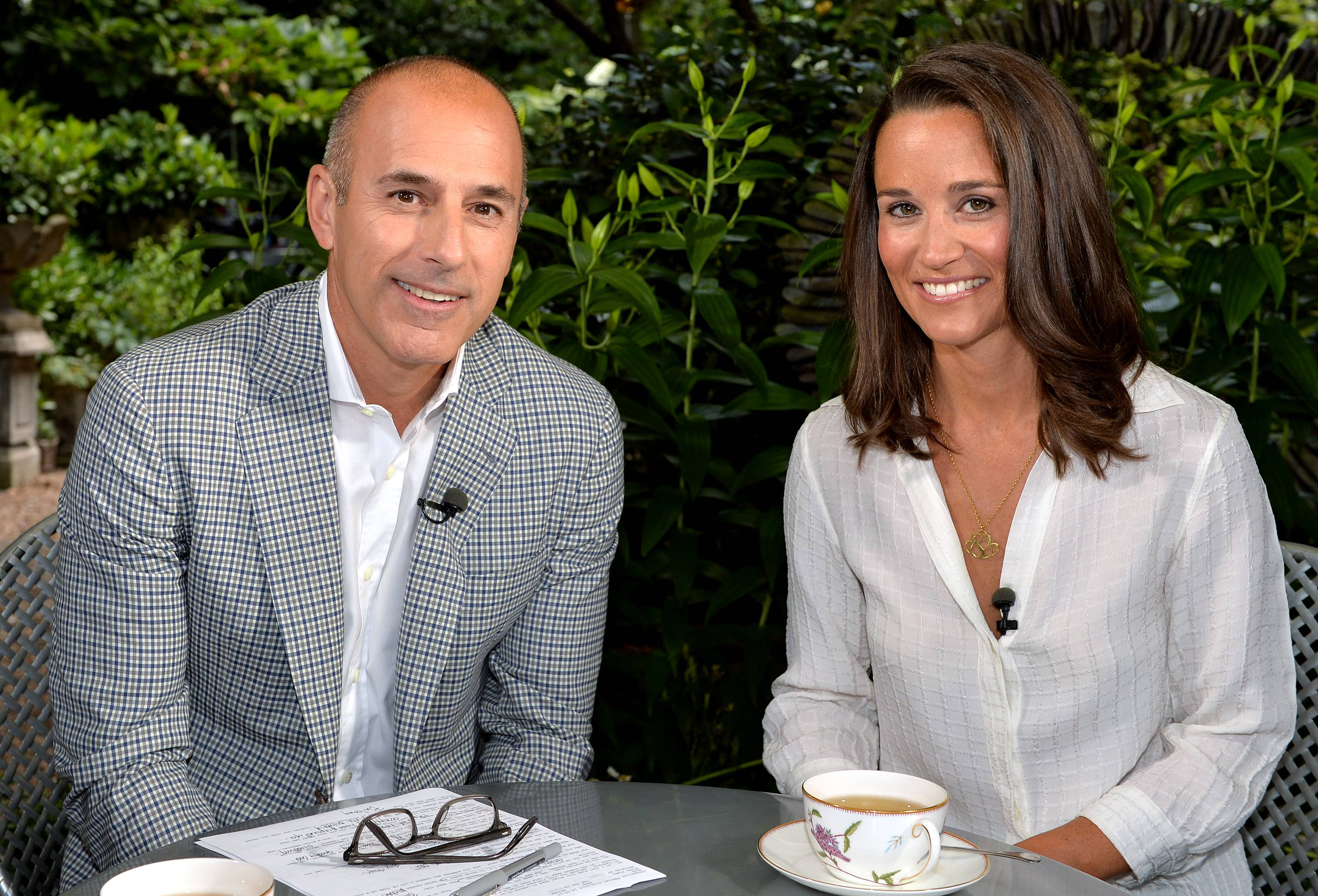 "Matt Lauer, co-host of the ""Today"" show, interviewed Pippa Middleton in London this week. Middleton told NBC News that she had no idea how big her sister Kate's 2011 marriage to Prince William would be, since she saw it as just another family wedding. ""Today"" is airing Lauer's report in two parts Monday and Tuesday."