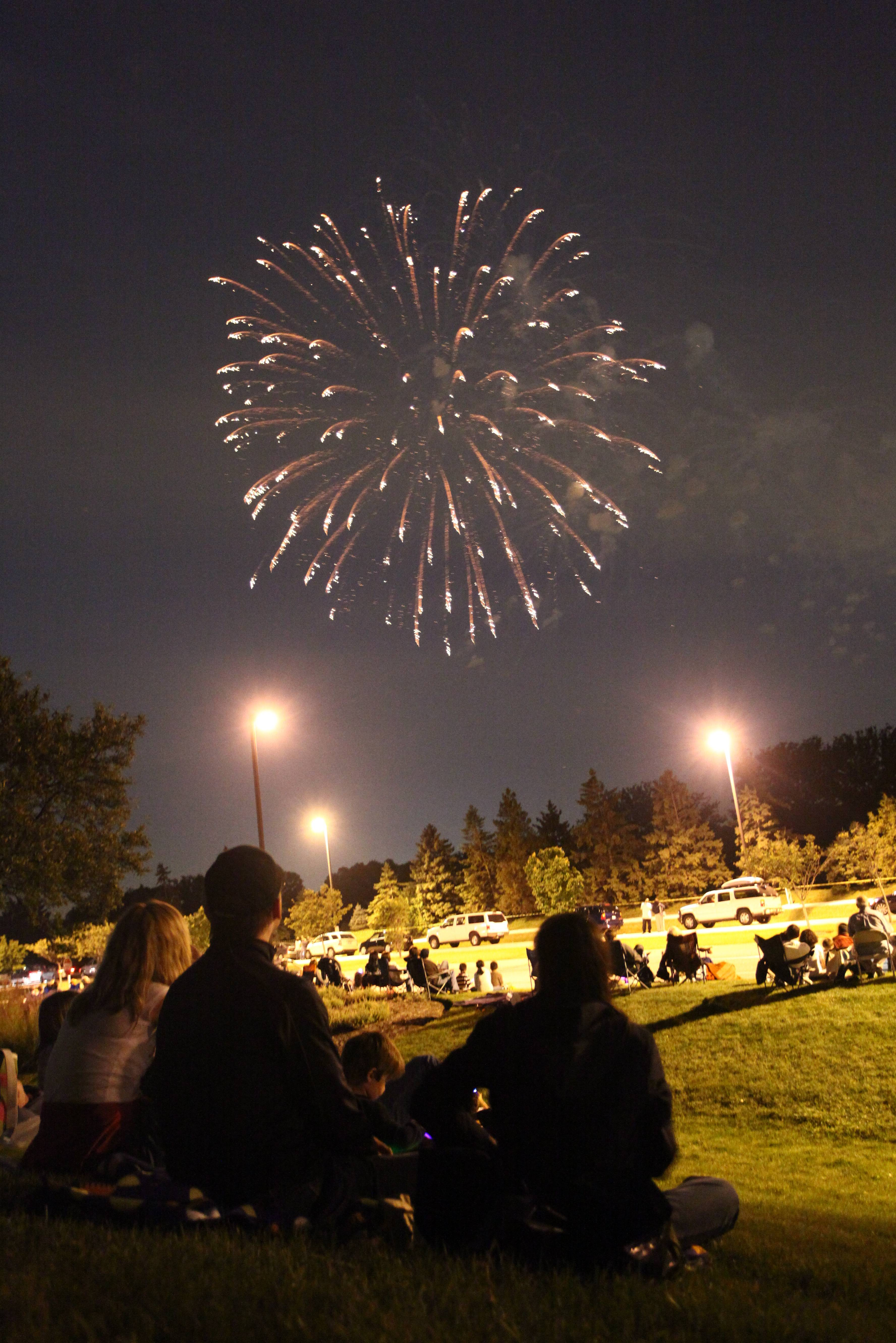 Fireworks return to Taste of Oak Brook Thursday, July 3.