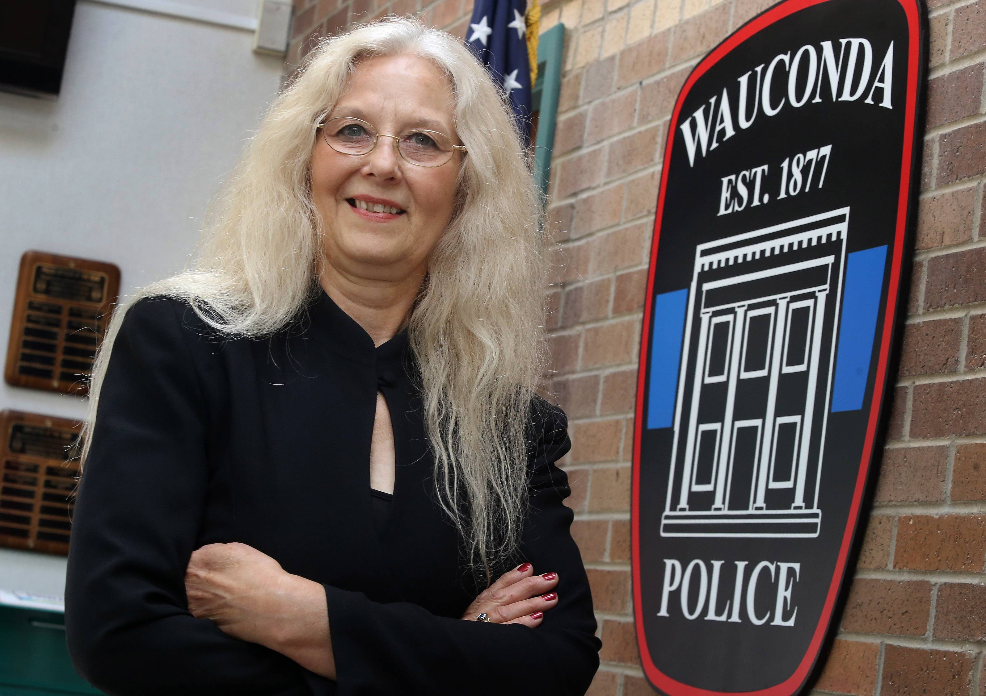 Wauconda police Executive Assistant Deborah Gompertz is celebrating her 40-year anniversary with the department. She started as a dispatcher in June 1974.