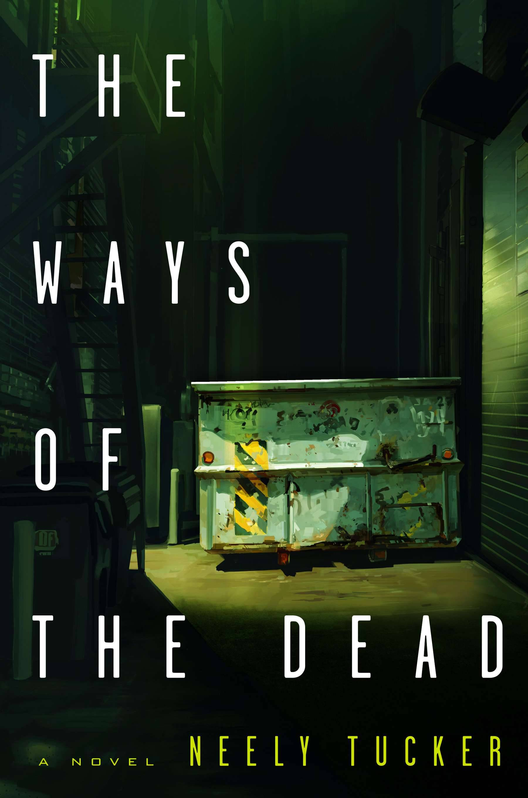 """The Ways of the Dead"" is Neely Tucker's debut novel."