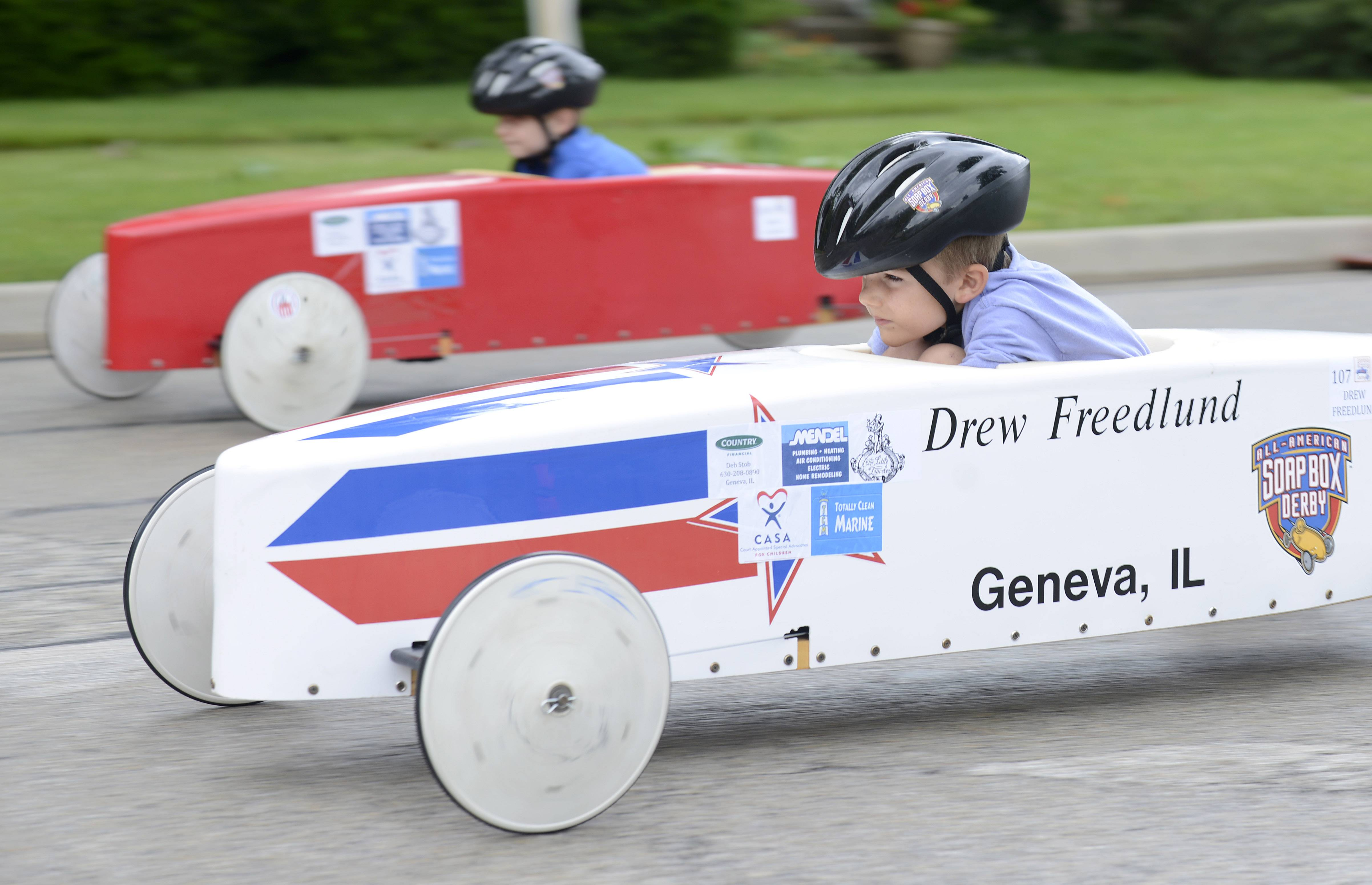 The All-American Soap Box Derby returns to Geneva.