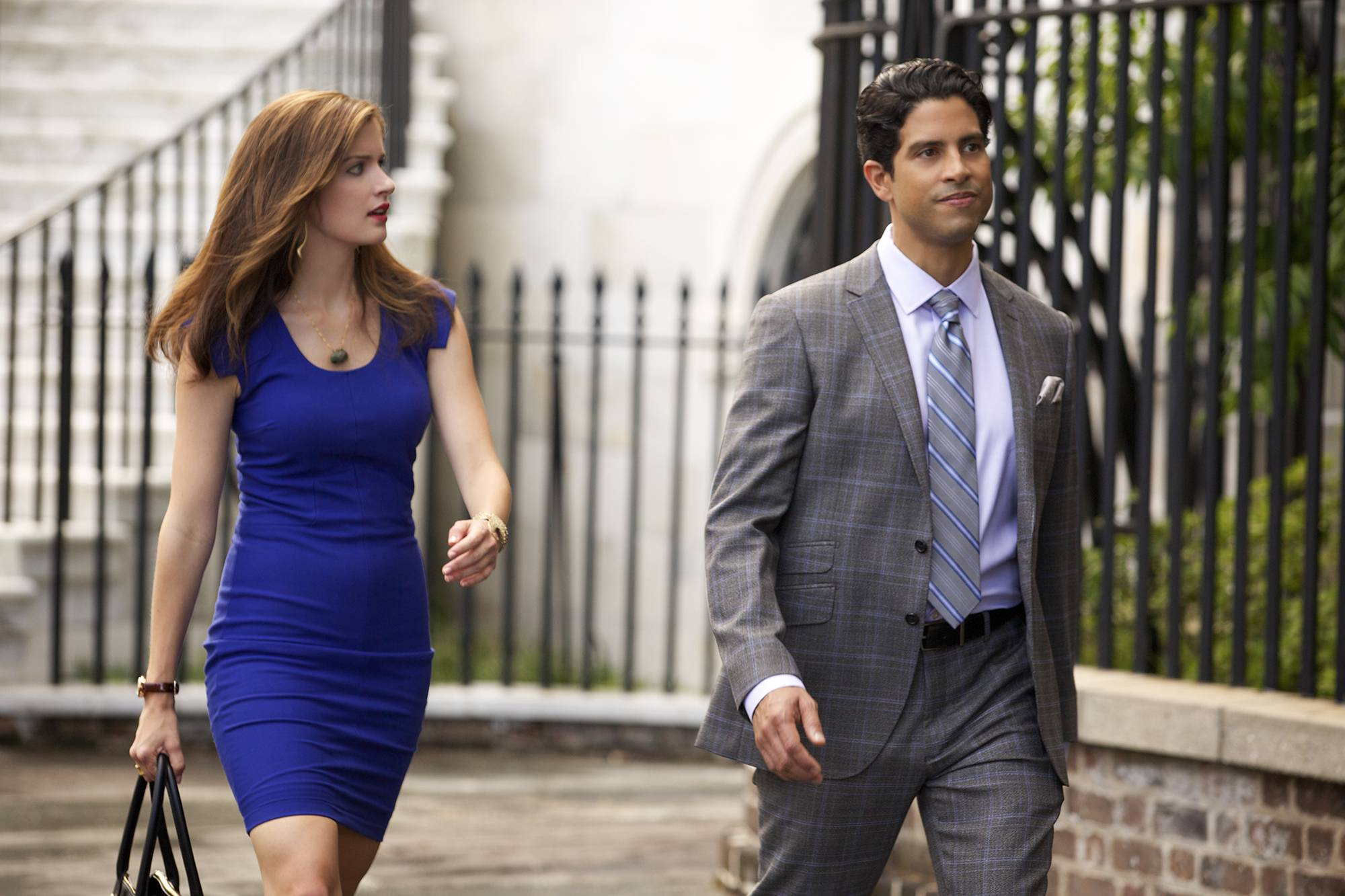 "Anna Wood plays Jamie Sawyer and Adam Rodriguez is Preston Cruz in ""Reckless,"" a sultry legal drama premiering at 8 p.m. Sunday, June 29, on CBS."