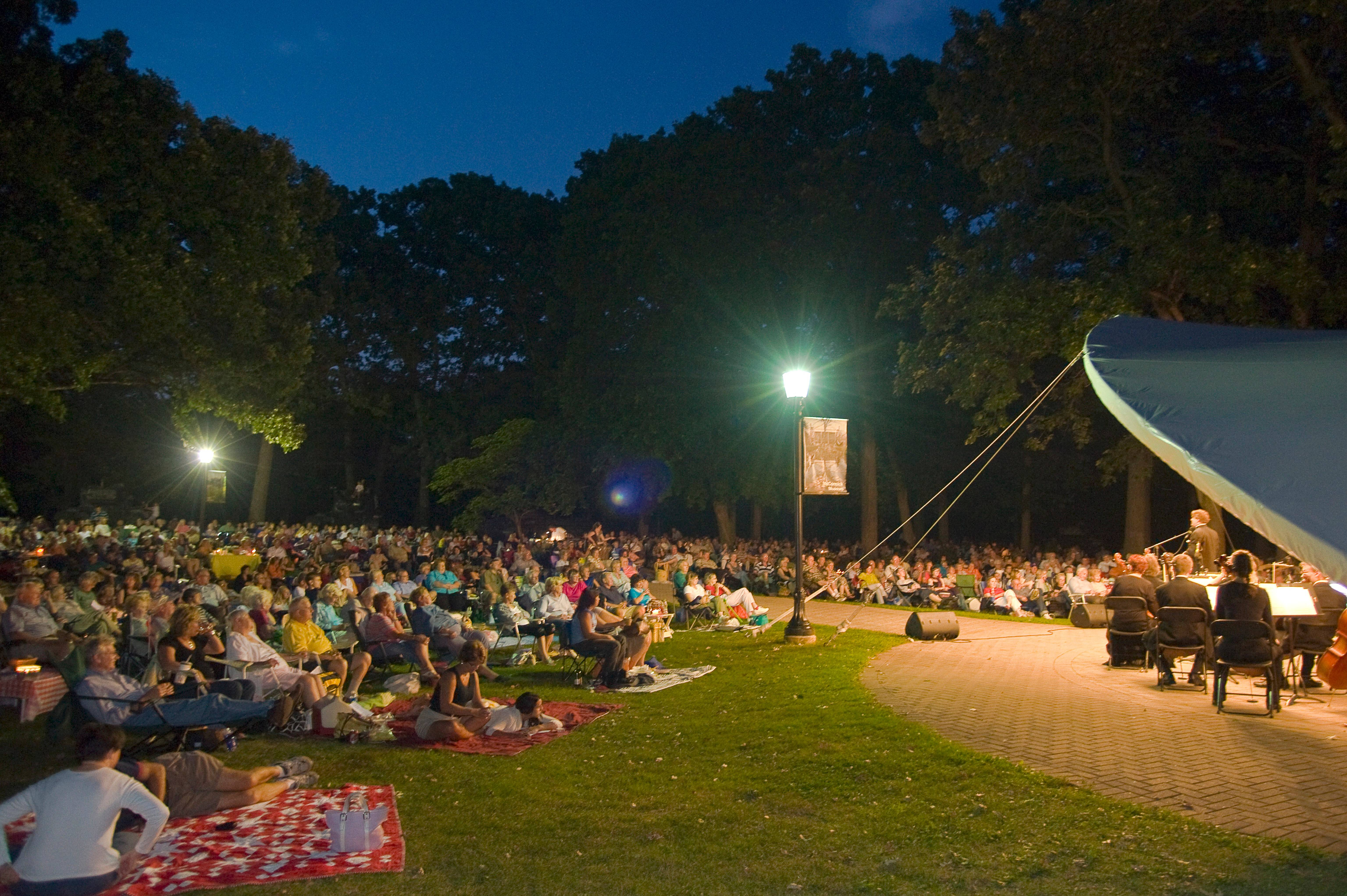 Movie in the Park at Cantigny Park